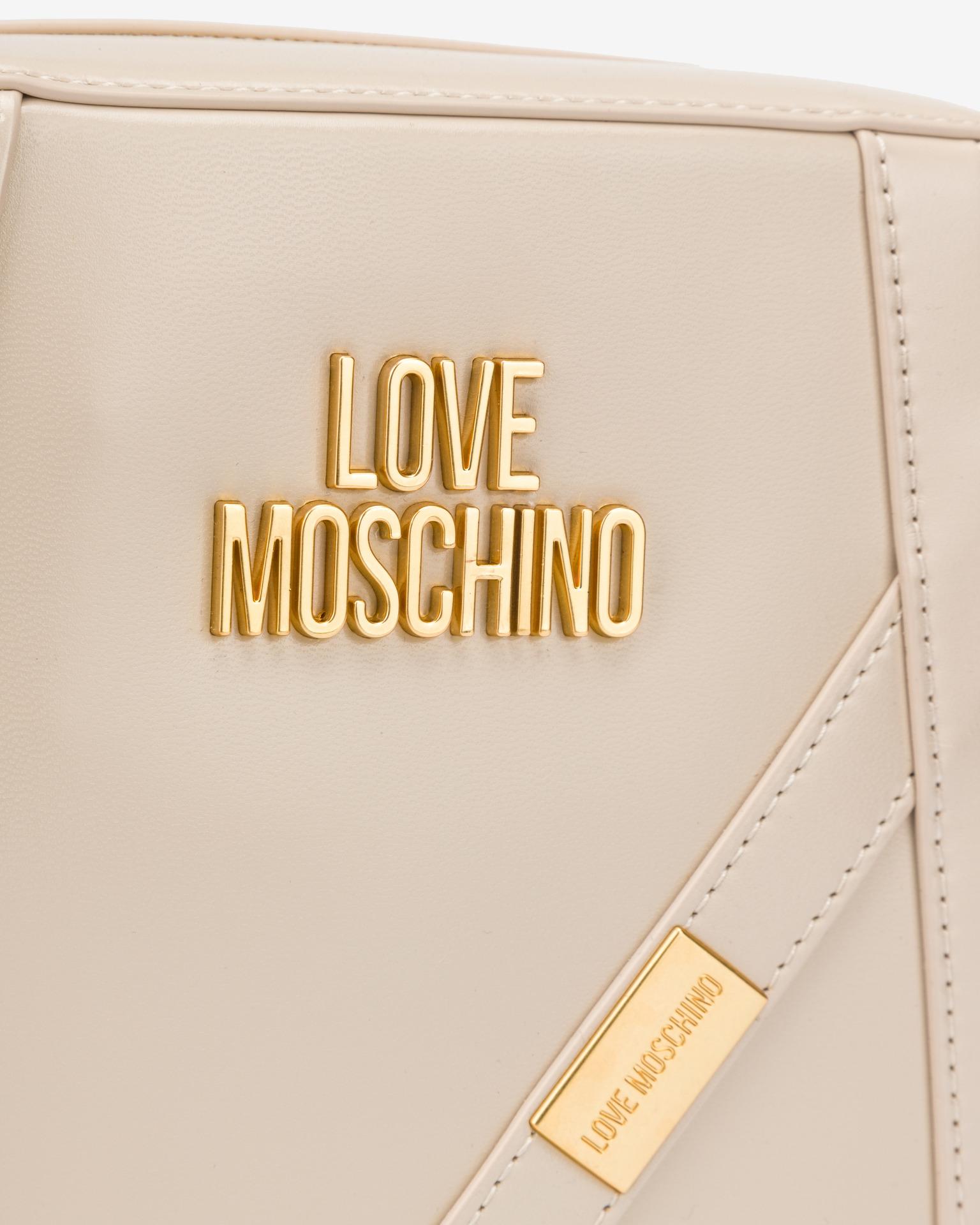 Love Moschino bej crossbody geanta