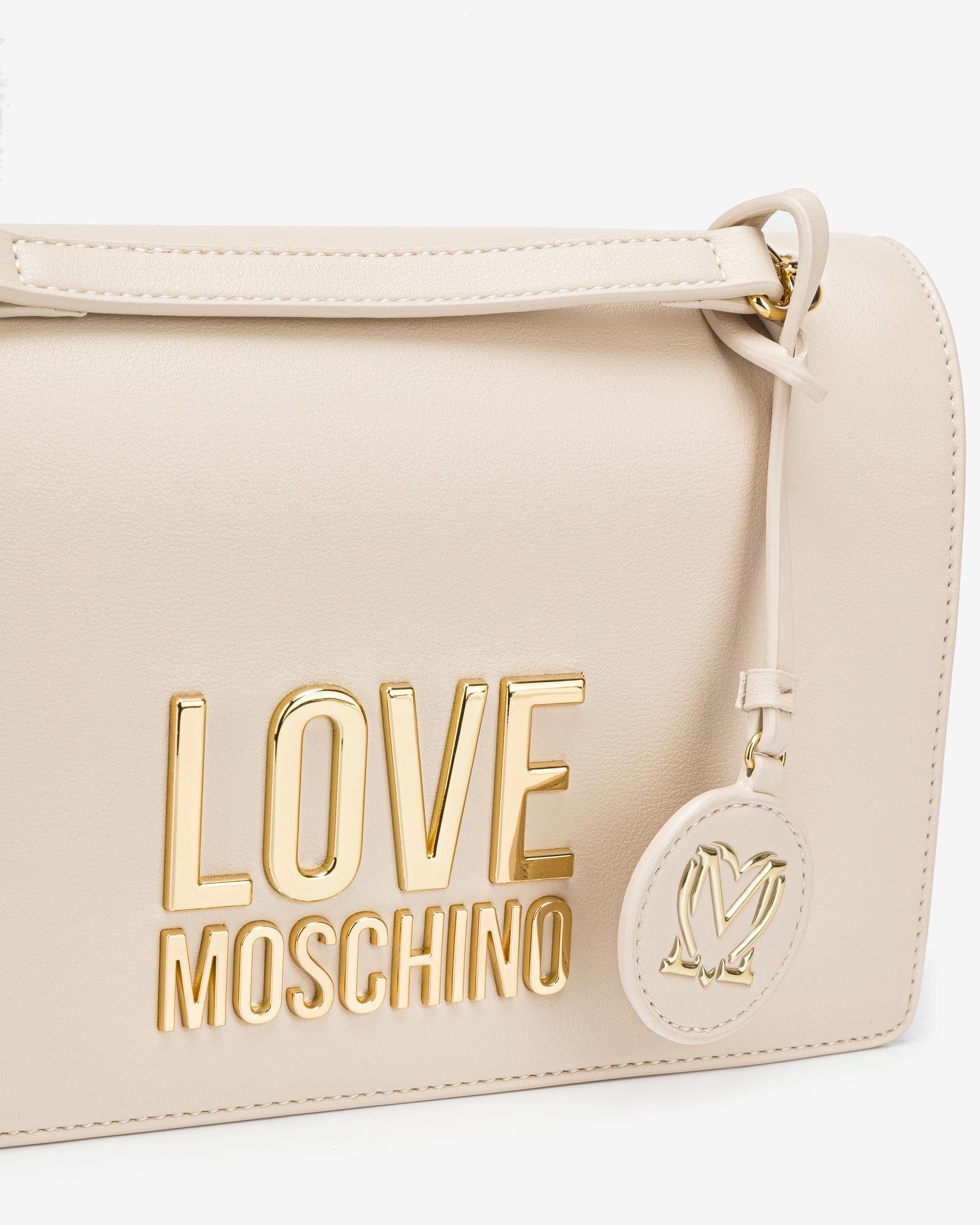 Love Moschino Cross body Alb Bej