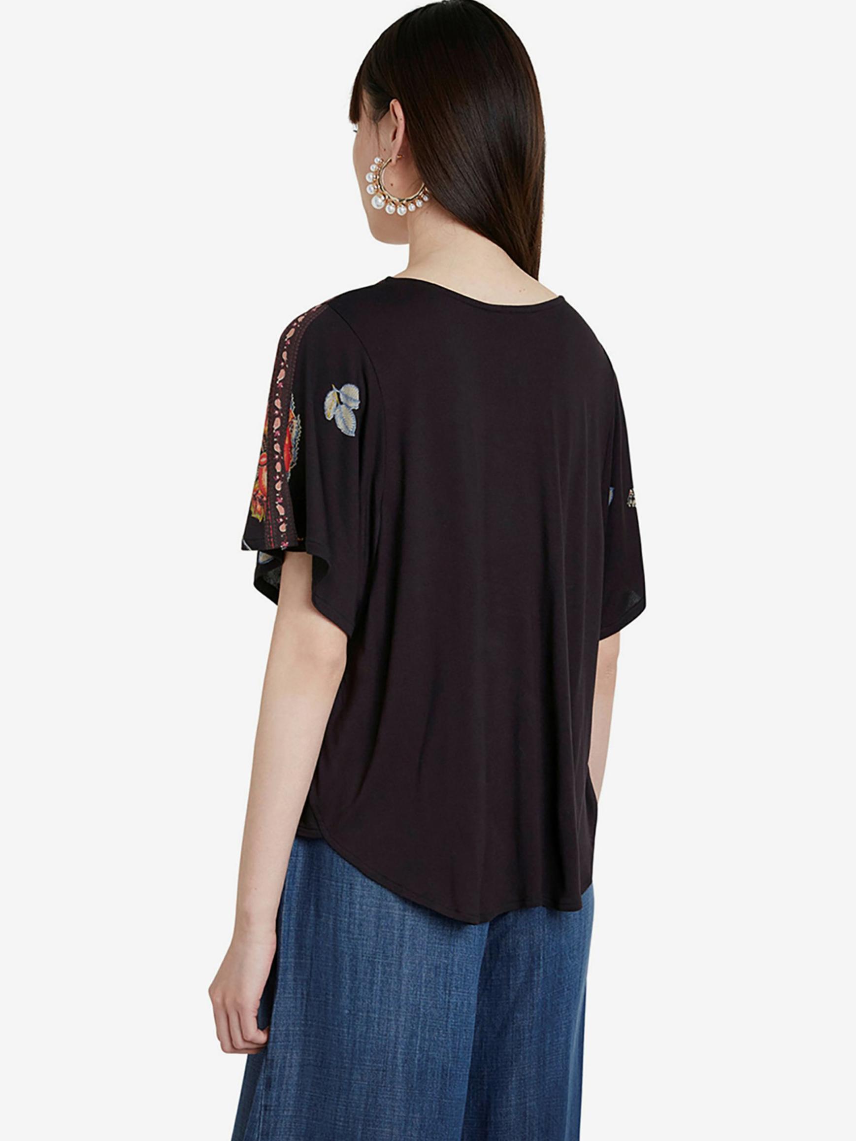 Desigual negre tricou Gabi