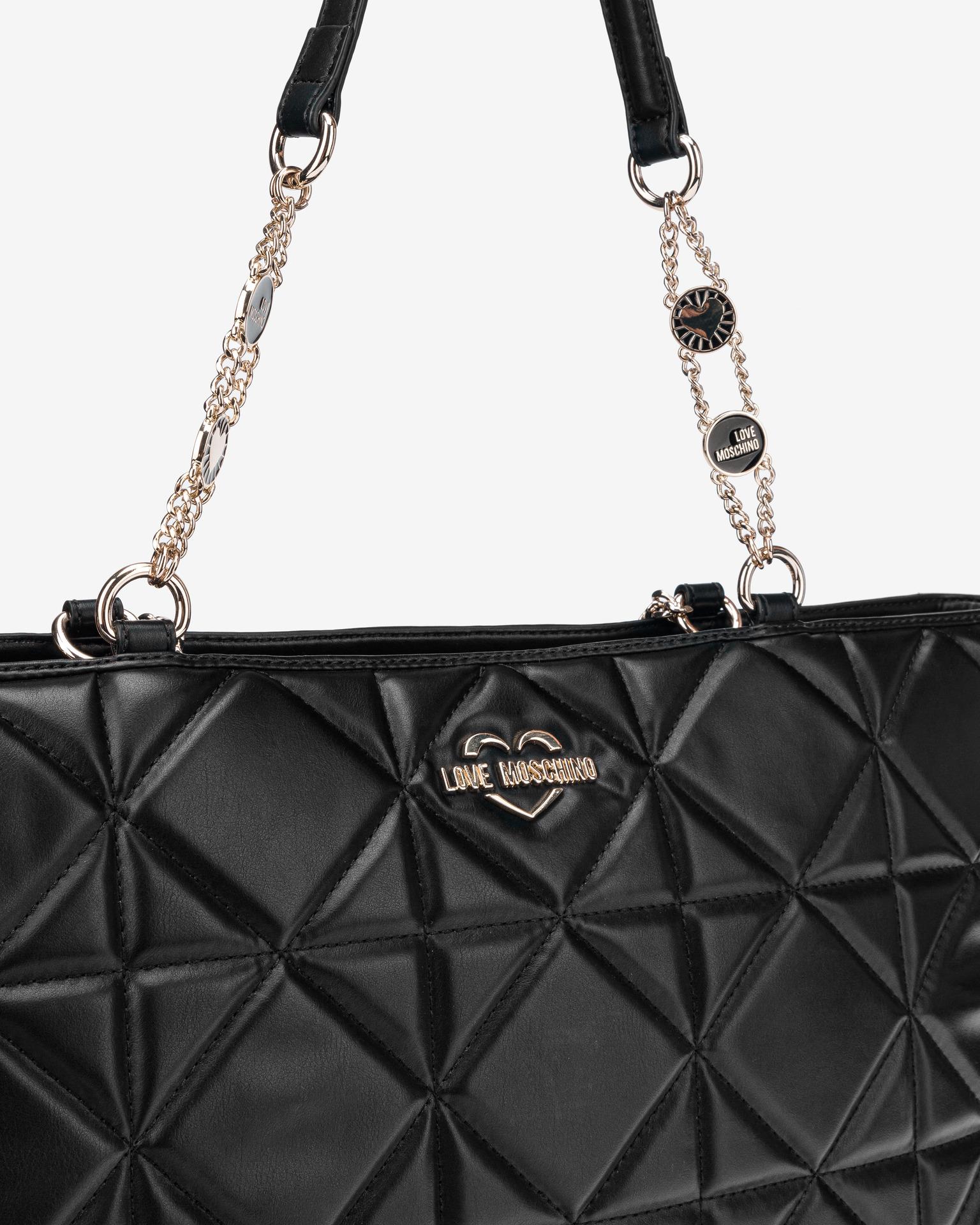 Love Moschino negre geanta