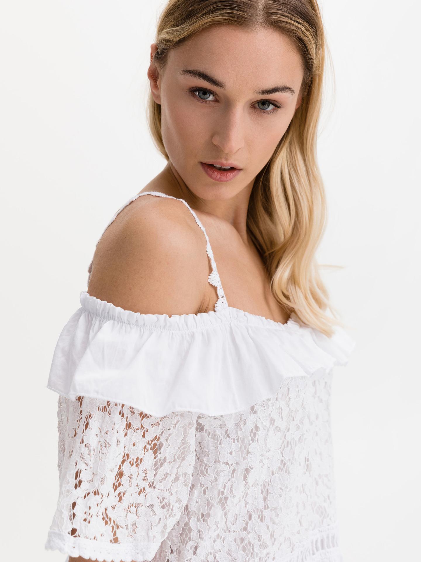 Guess albe de dama bluză New Olimpia
