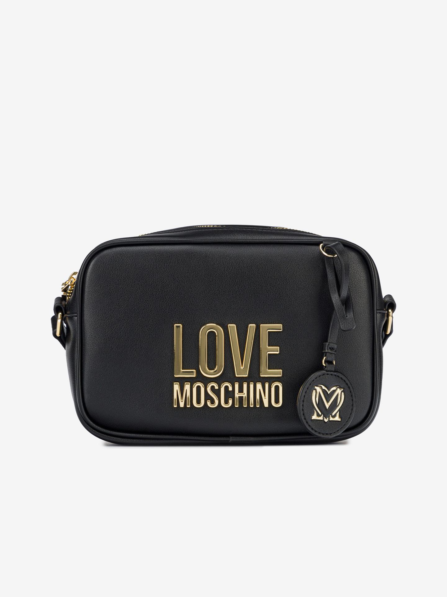 Love Moschino negre crossbody geanta