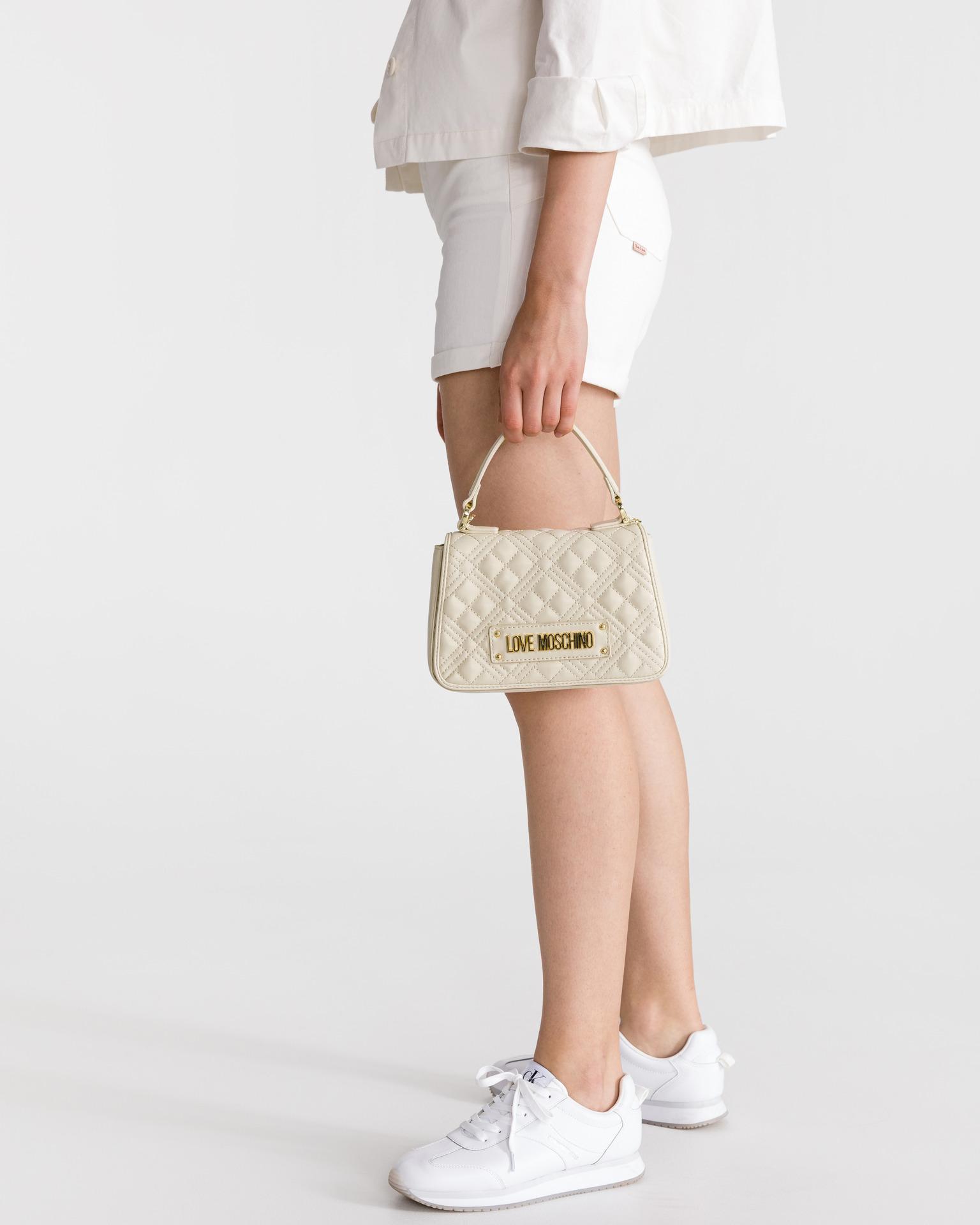 Love Moschino bej geanta