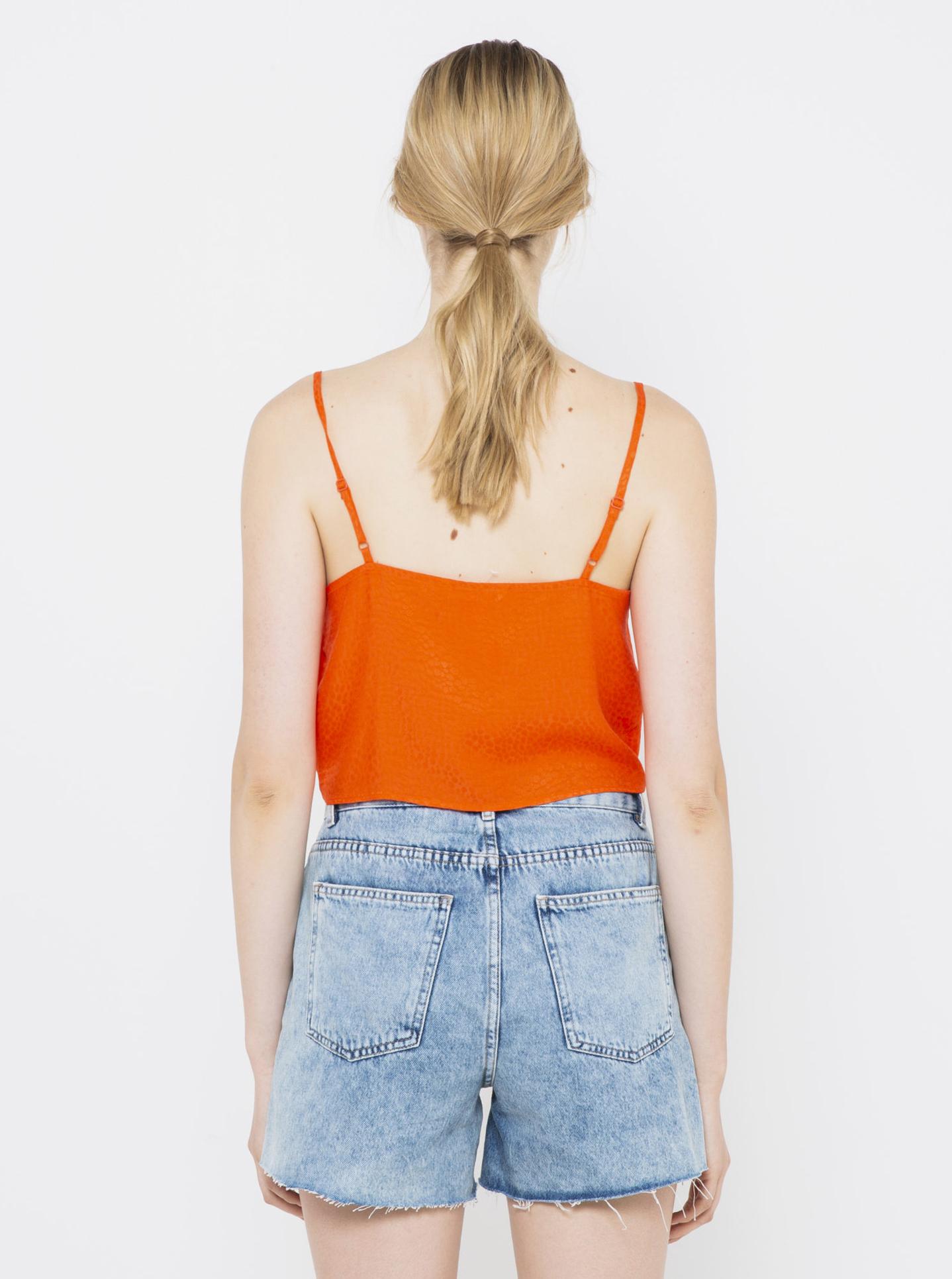 CAMAIEU portocalii de dama top