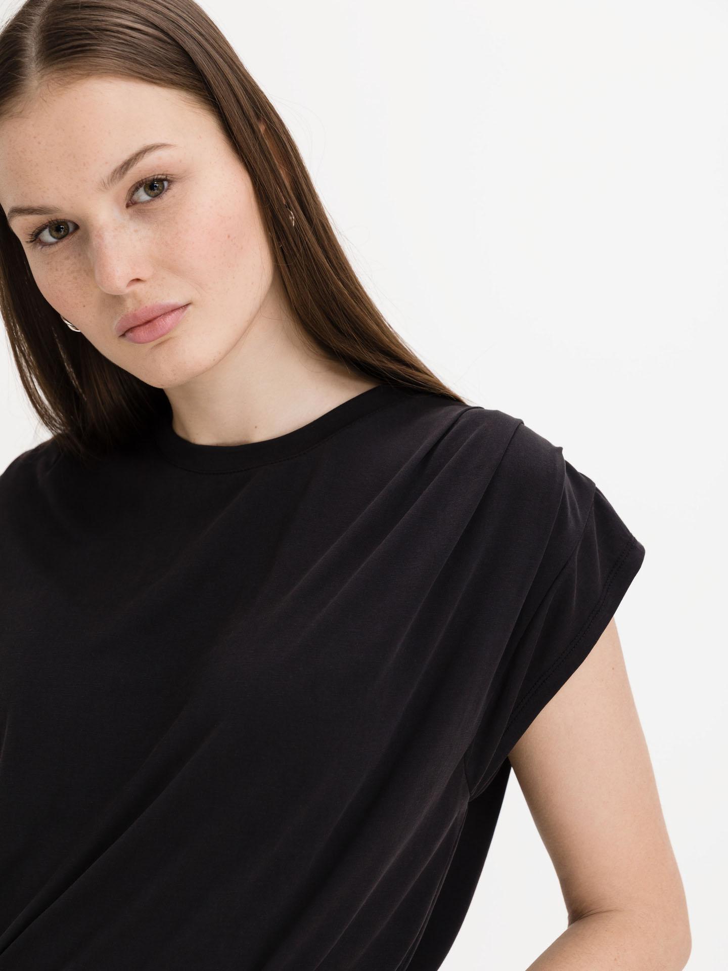 Ichi negre de dama tricou Lisken
