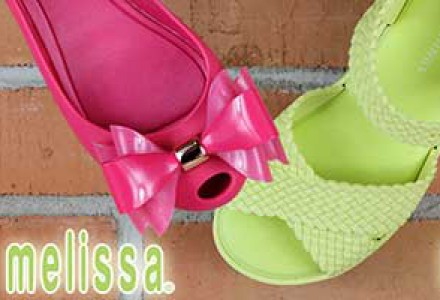 Pantofii Melissa - noua colectie primavara/vara 2017