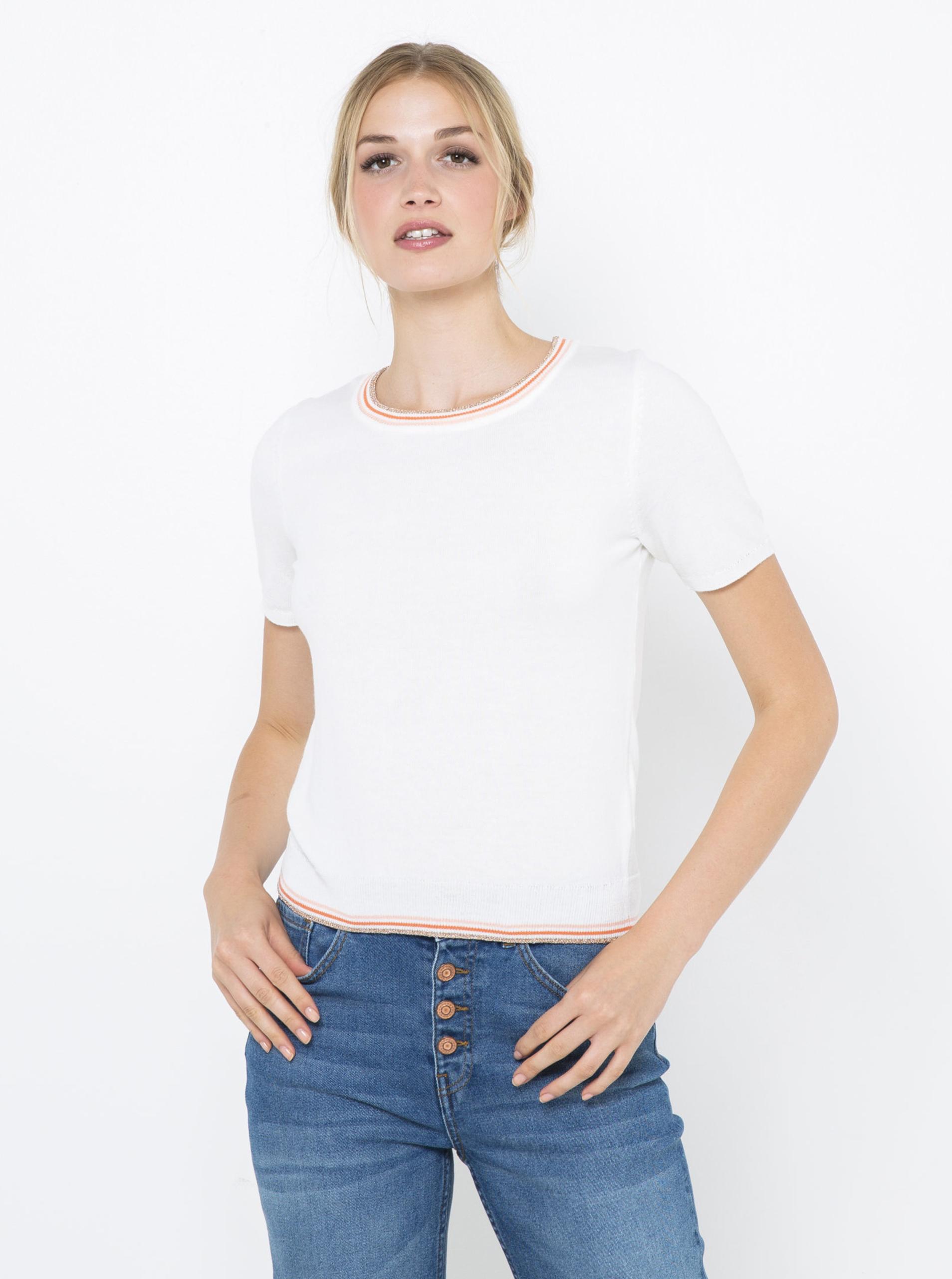 CAMAIEU albe de dama tricou