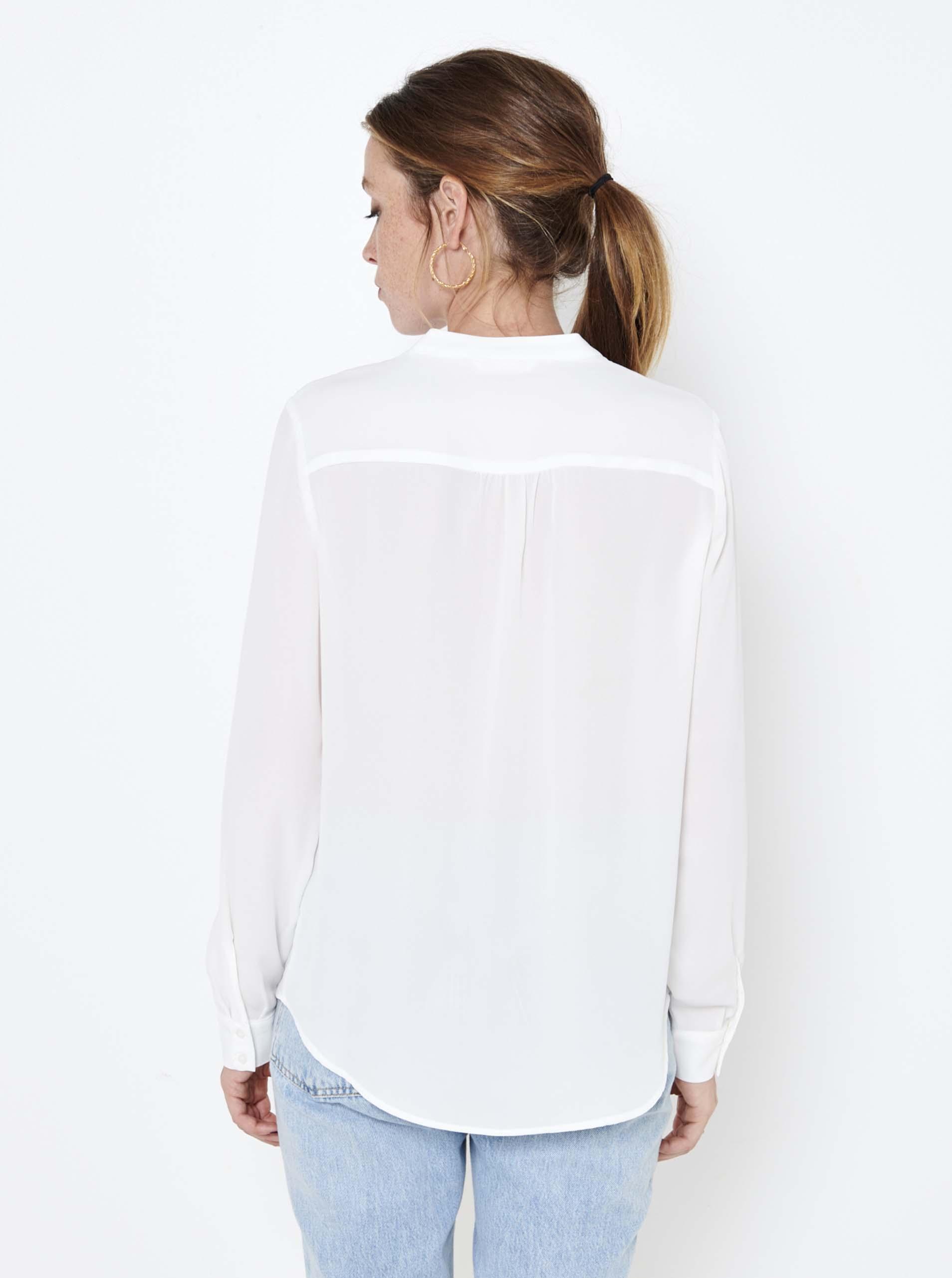 CAMAIEU albe bluză