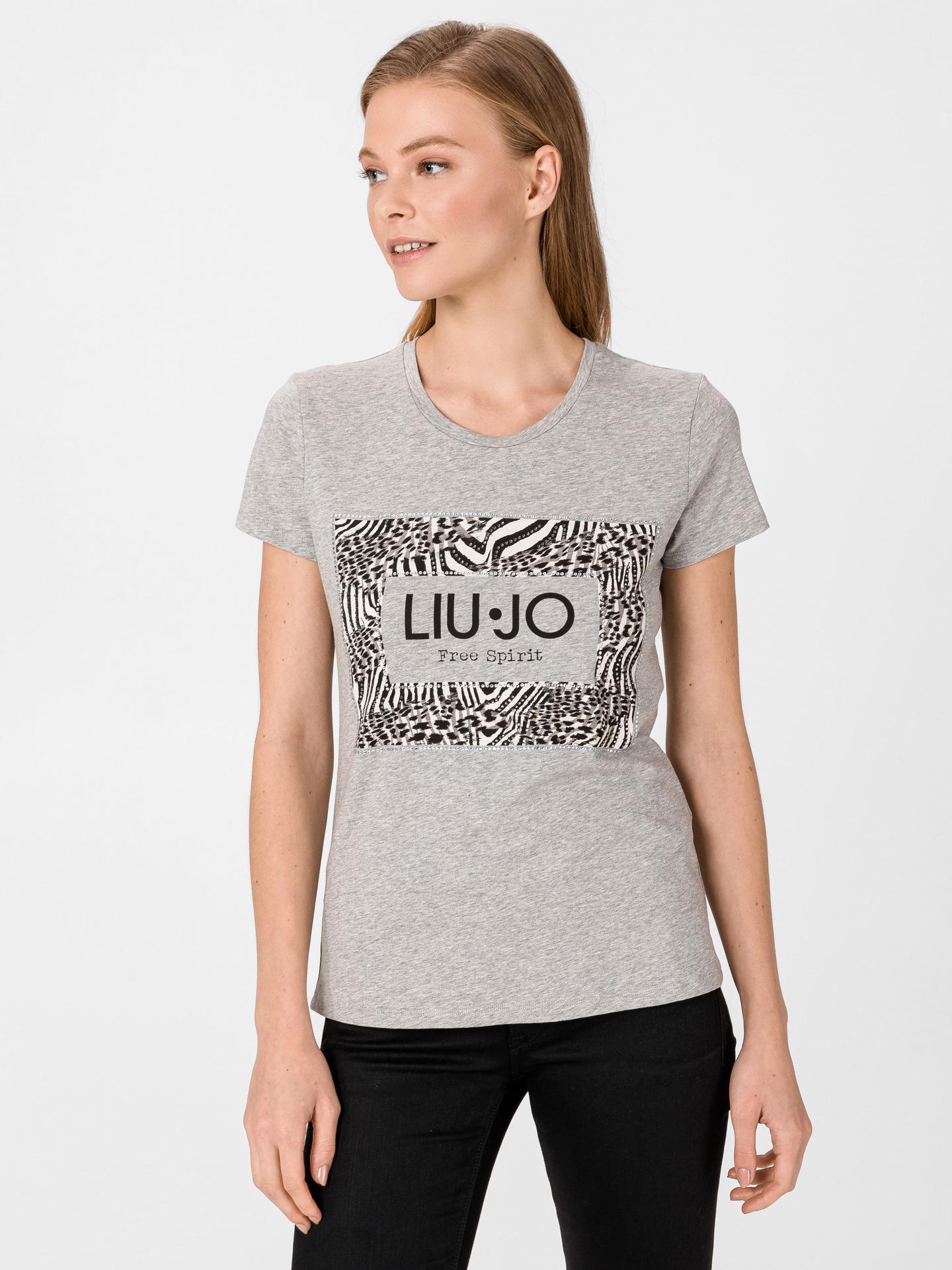 Liu Jo gri de dama tricou
