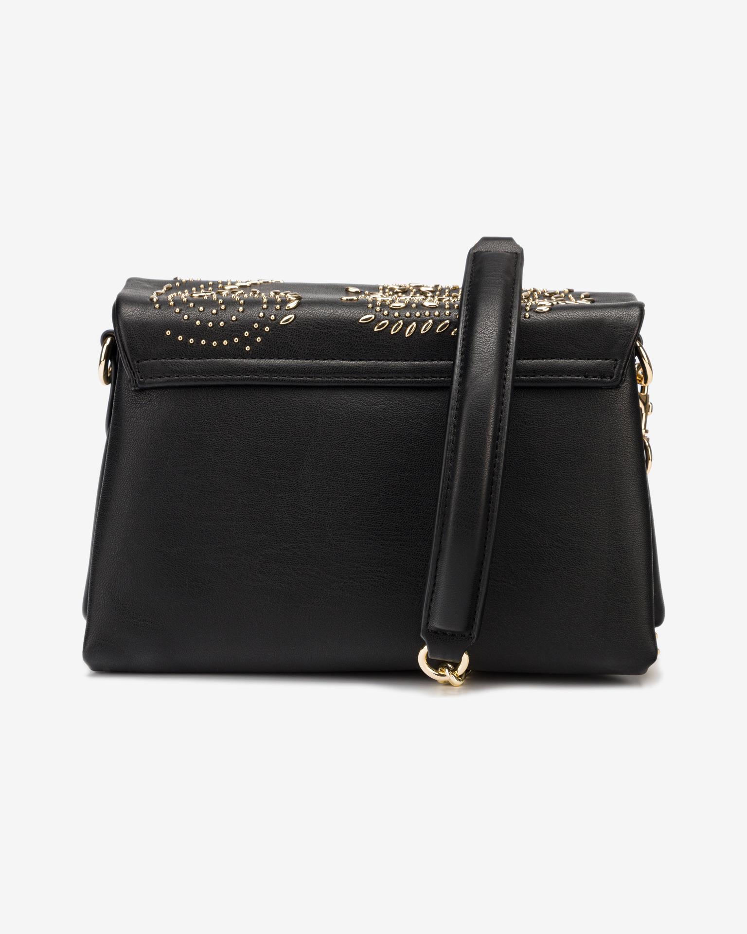 Versace Jeans Couture negre crossbody geanta