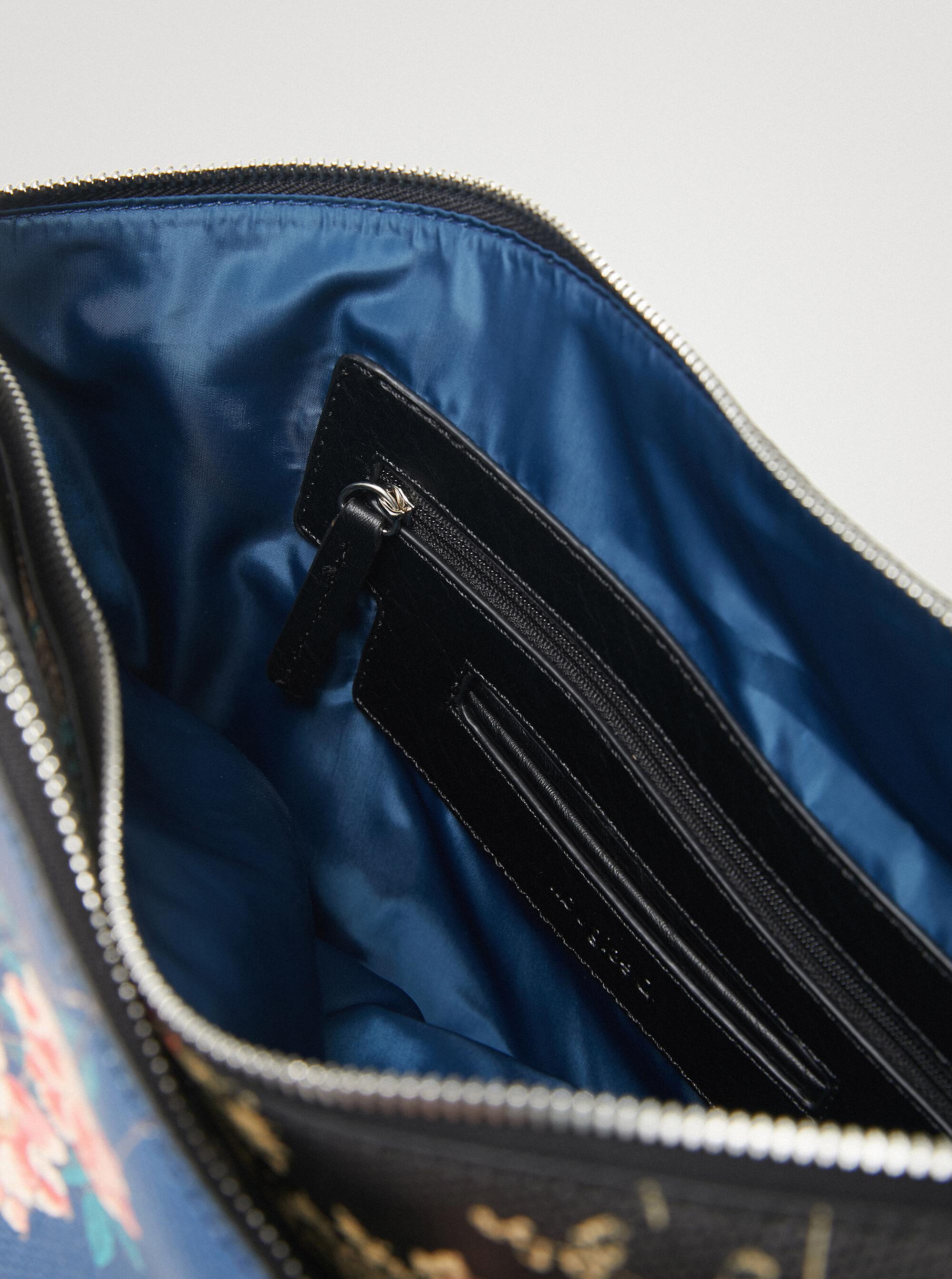 Desigual albastre geanta Magnus Harry 2.0 Maxi