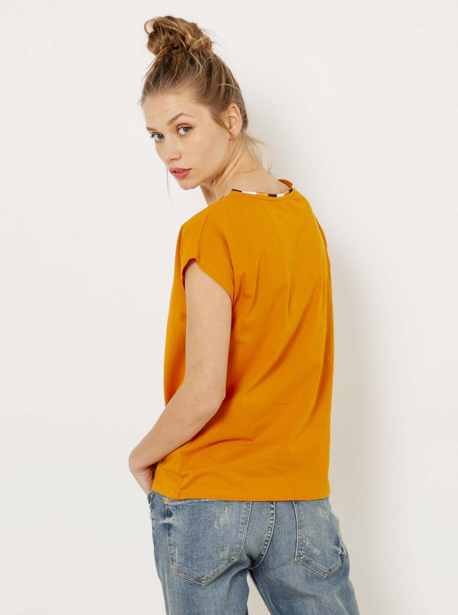 Tricouri pentru femei CAMAIEU - oranj
