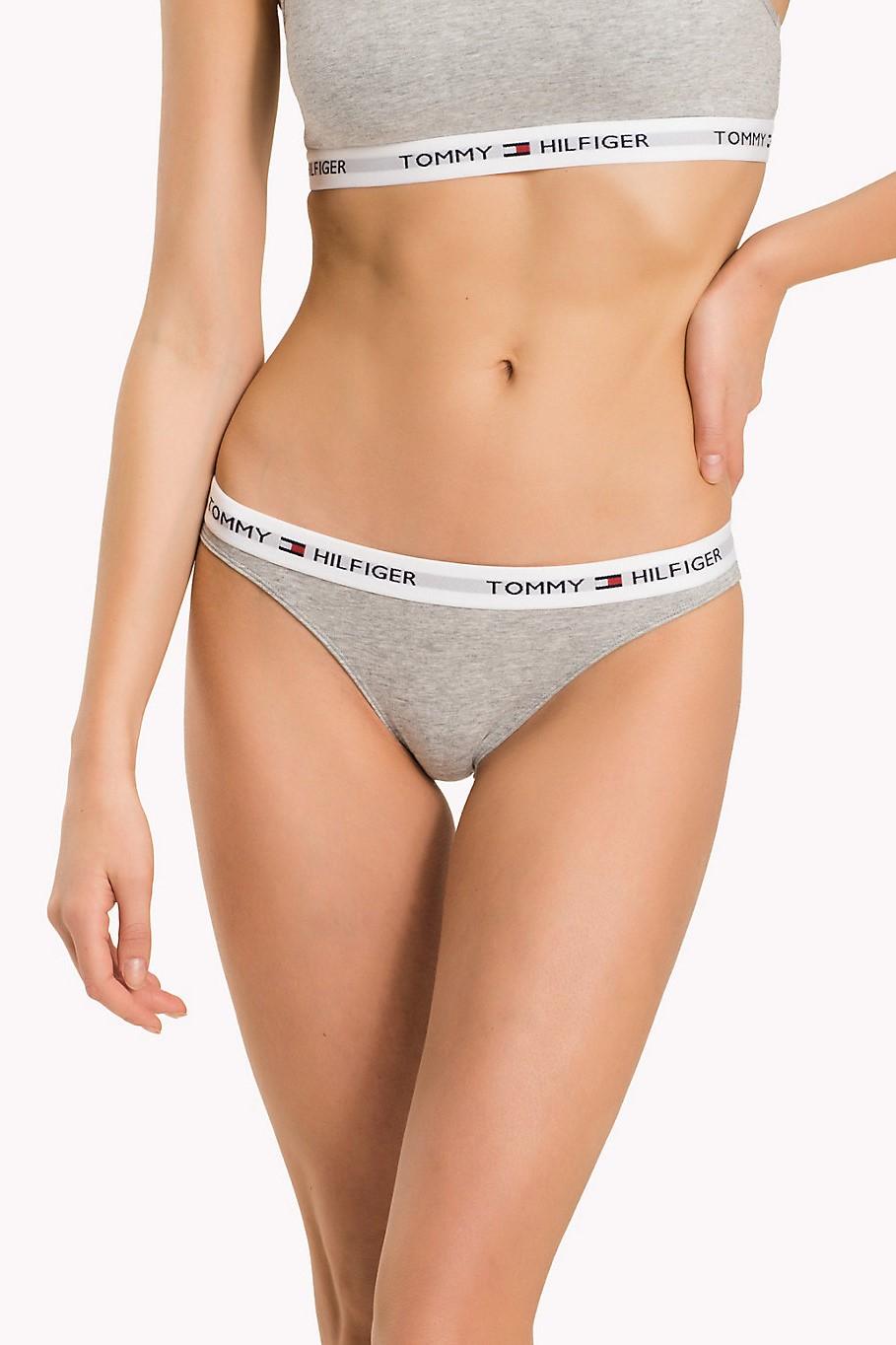 af76d5ef3a89 Tommy Hilfiger chiloti gri de dama Bikini Iconic