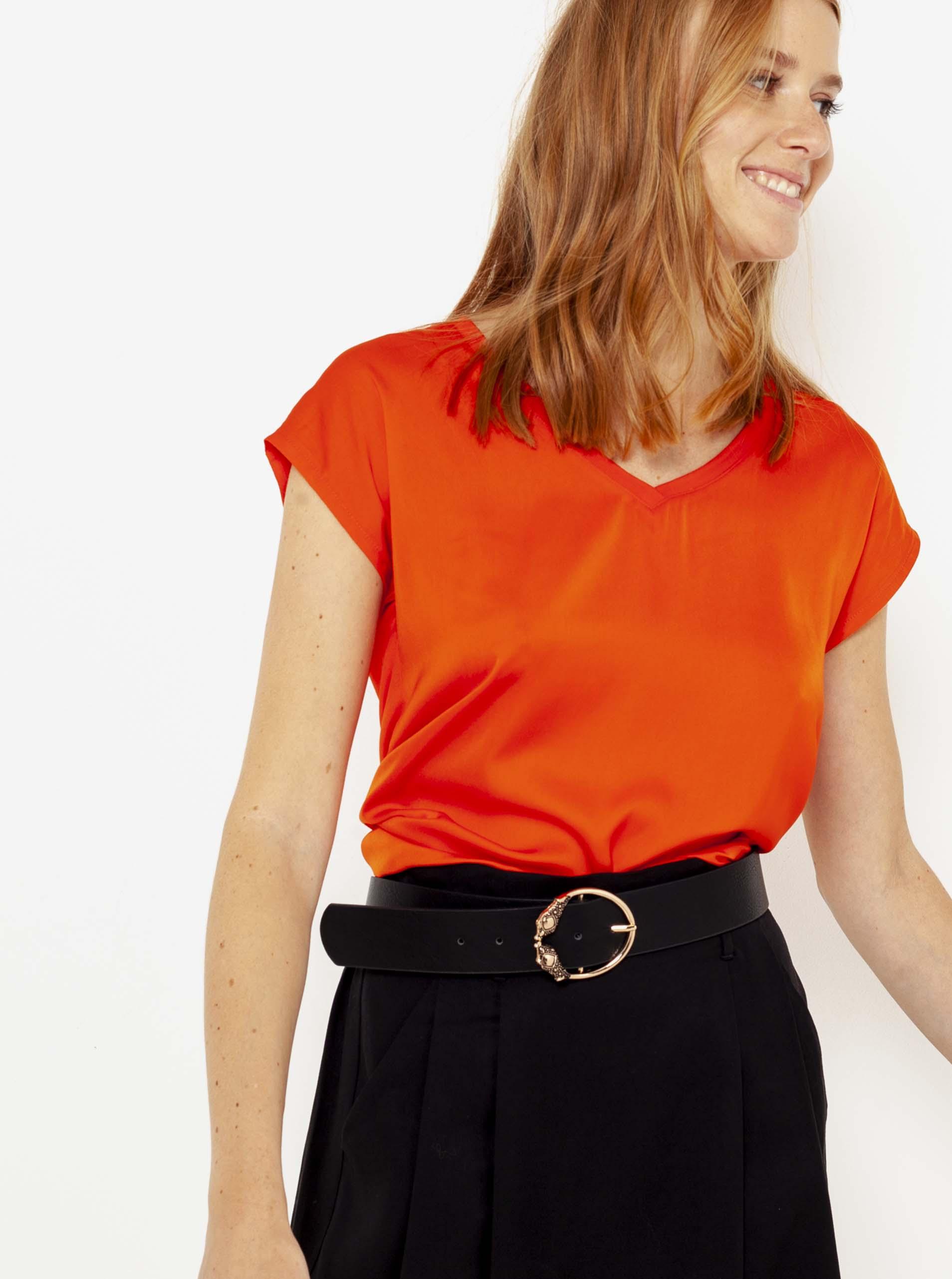 CAMAIEU roșii de dama tricou