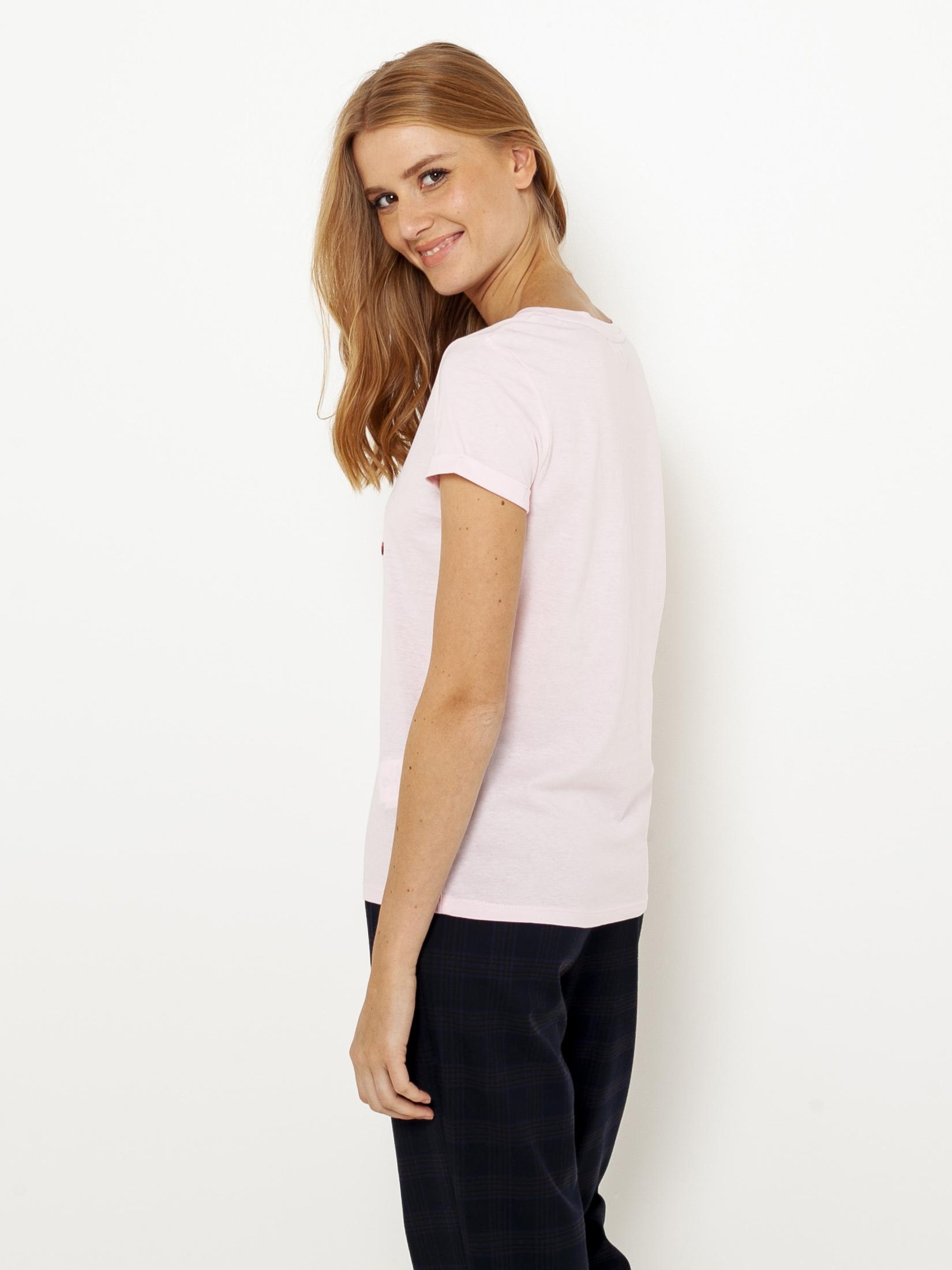 Tricouri pentru femei CAMAIEU - roz deschis