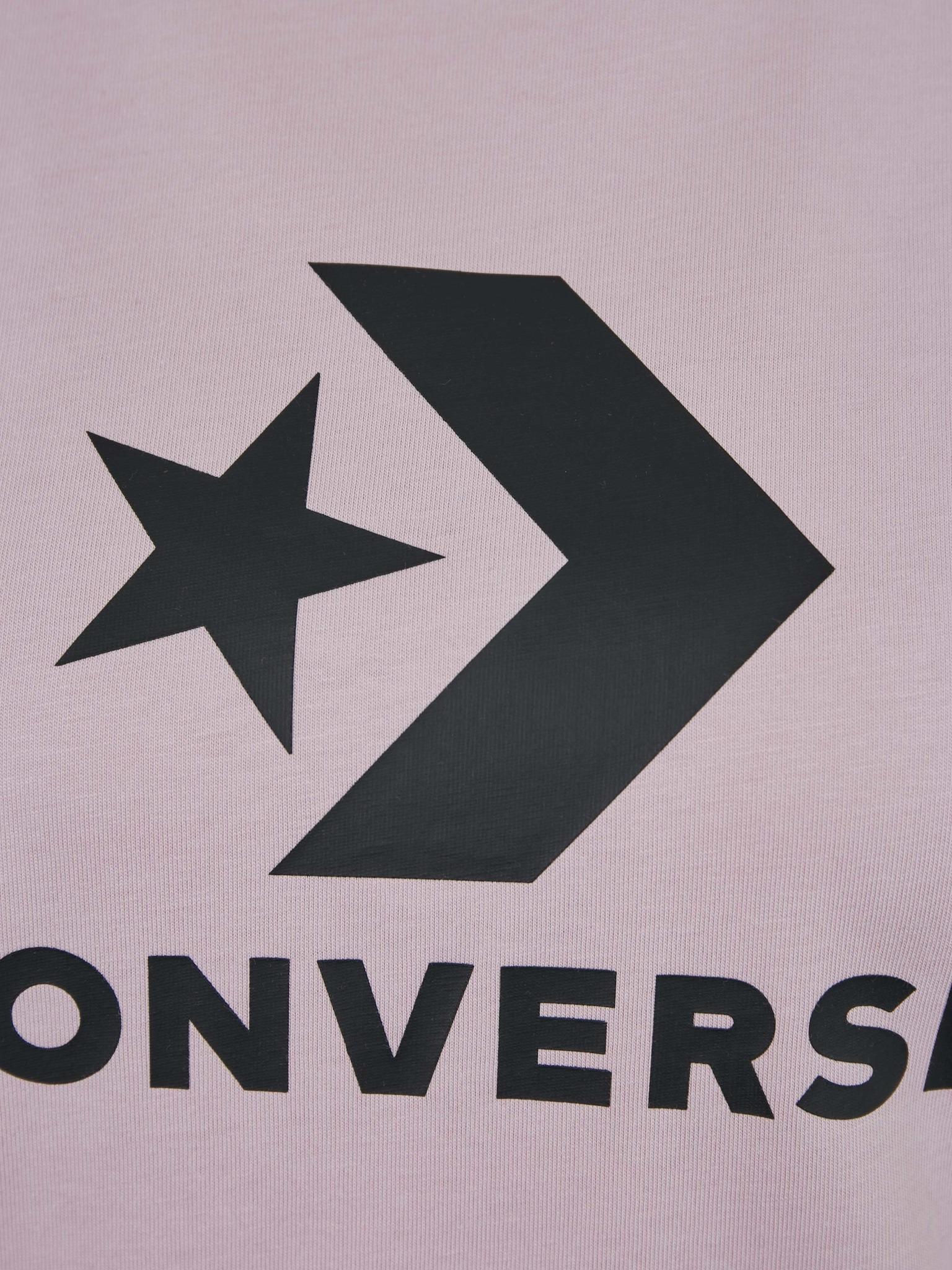 Converse Boosted Star Chevron Tricou Roz