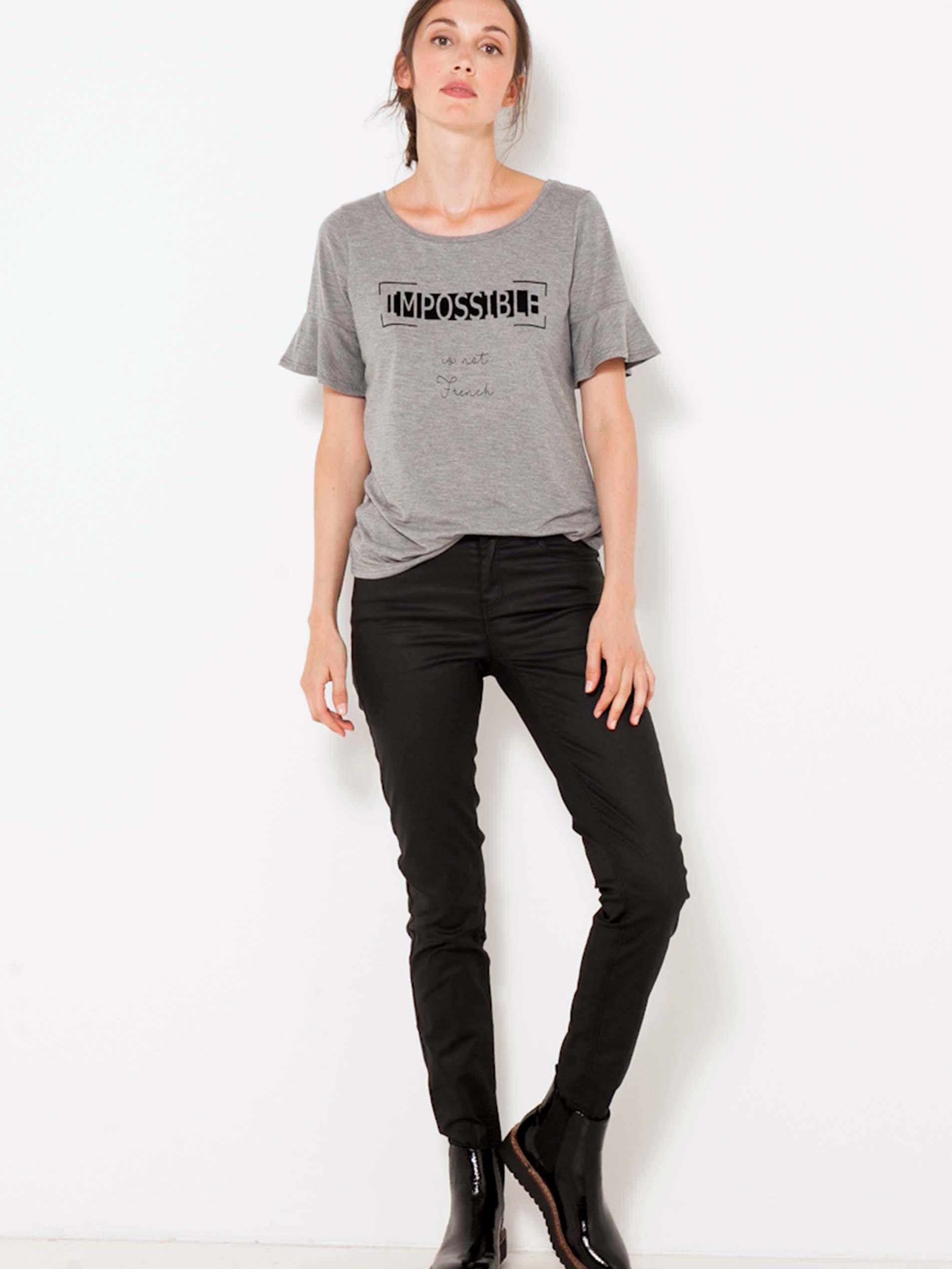 Tricouri pentru femei CAMAIEU - gri