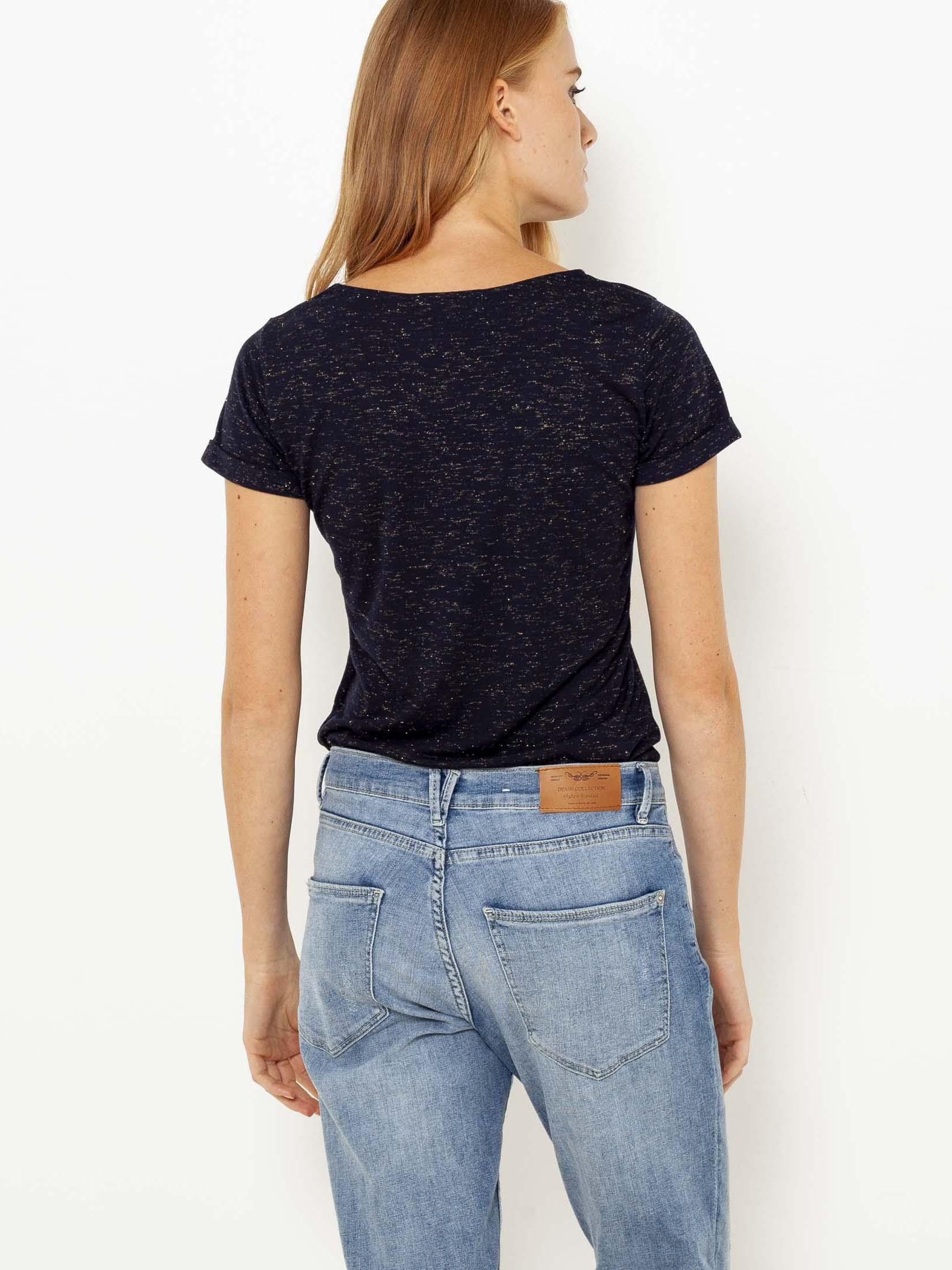 Tricouri pentru femei CAMAIEU - gri inchis
