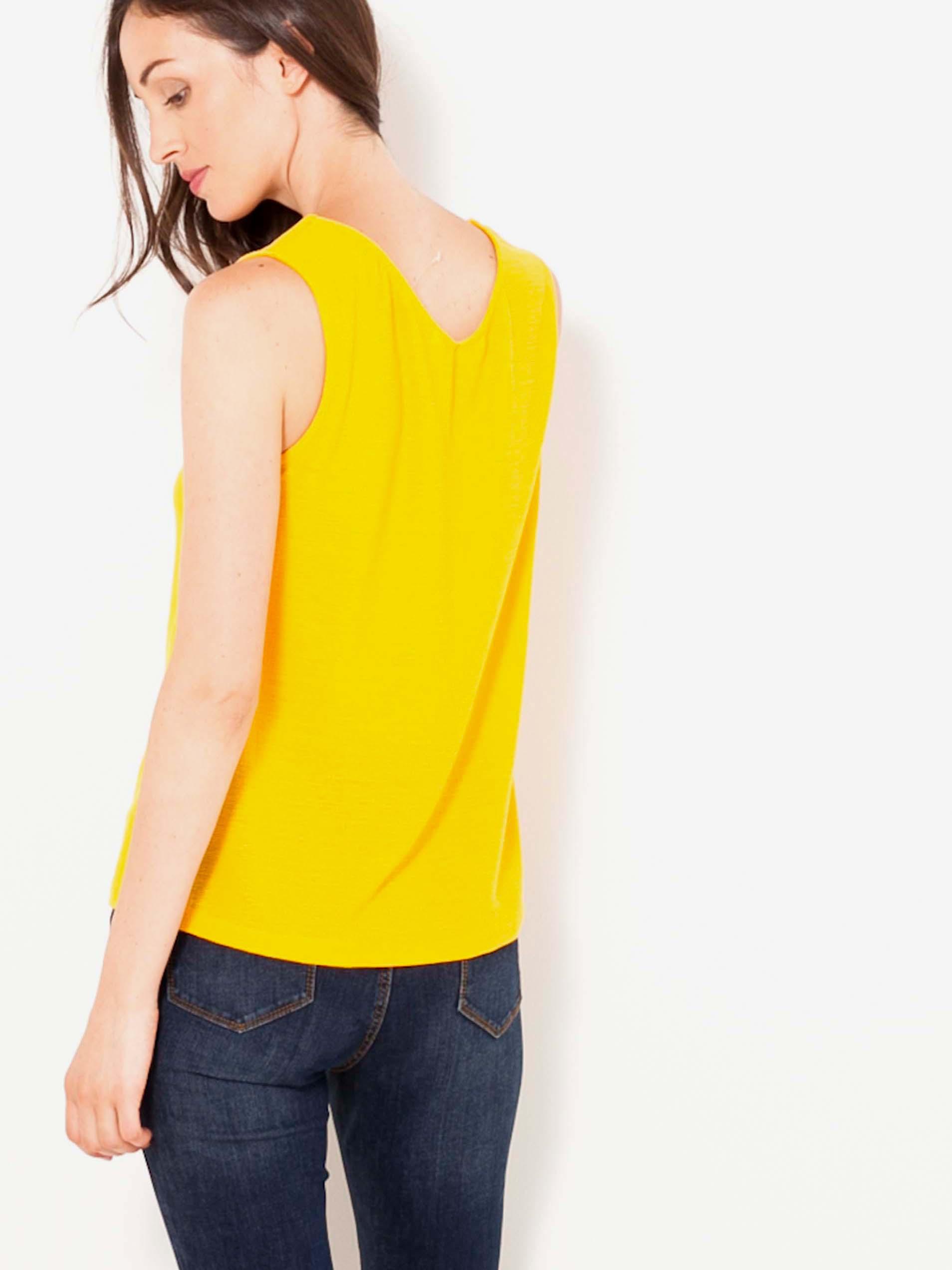 Maiouri pentru femei CAMAIEU - galben