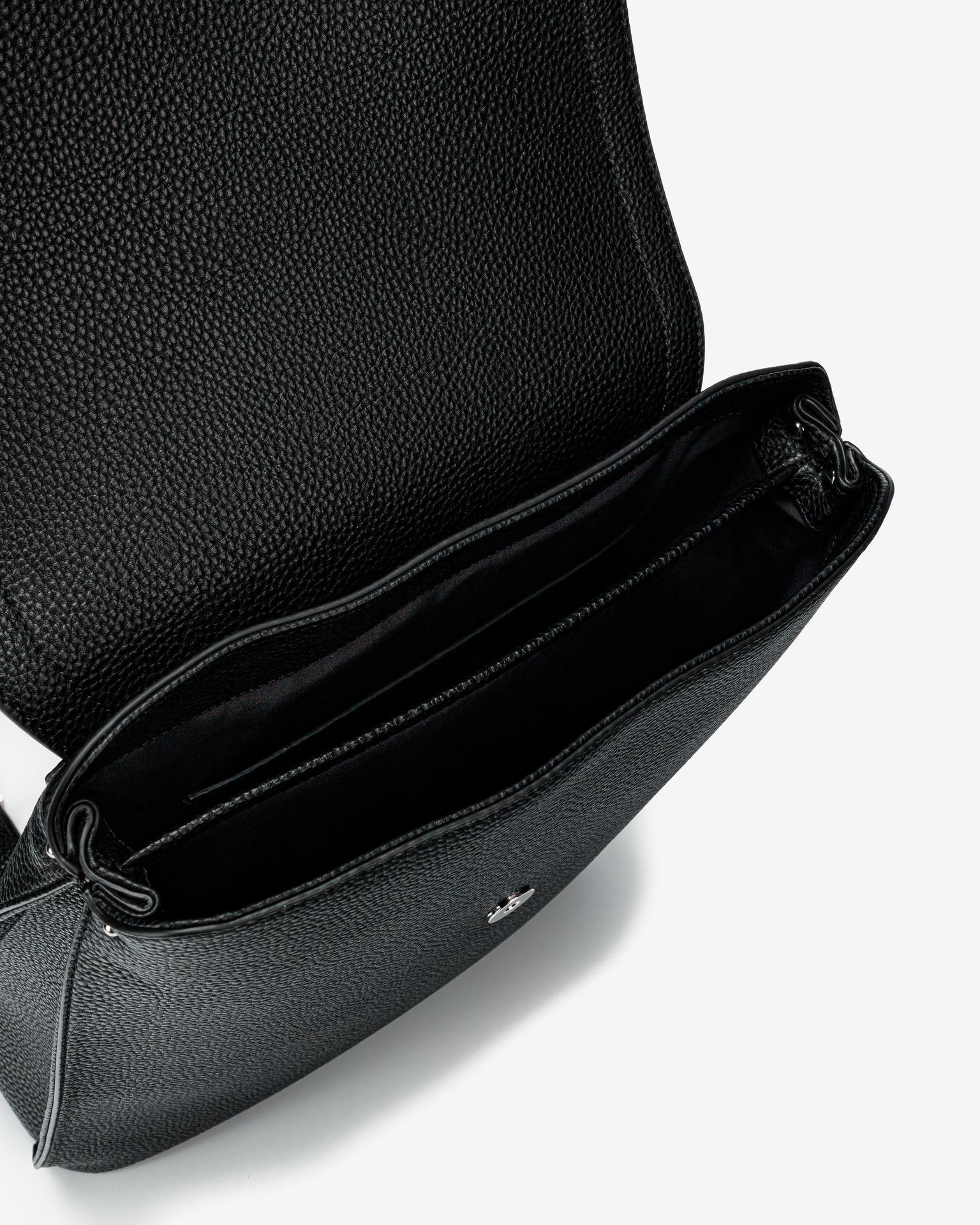 Calvin Klein negre rucsac Flap