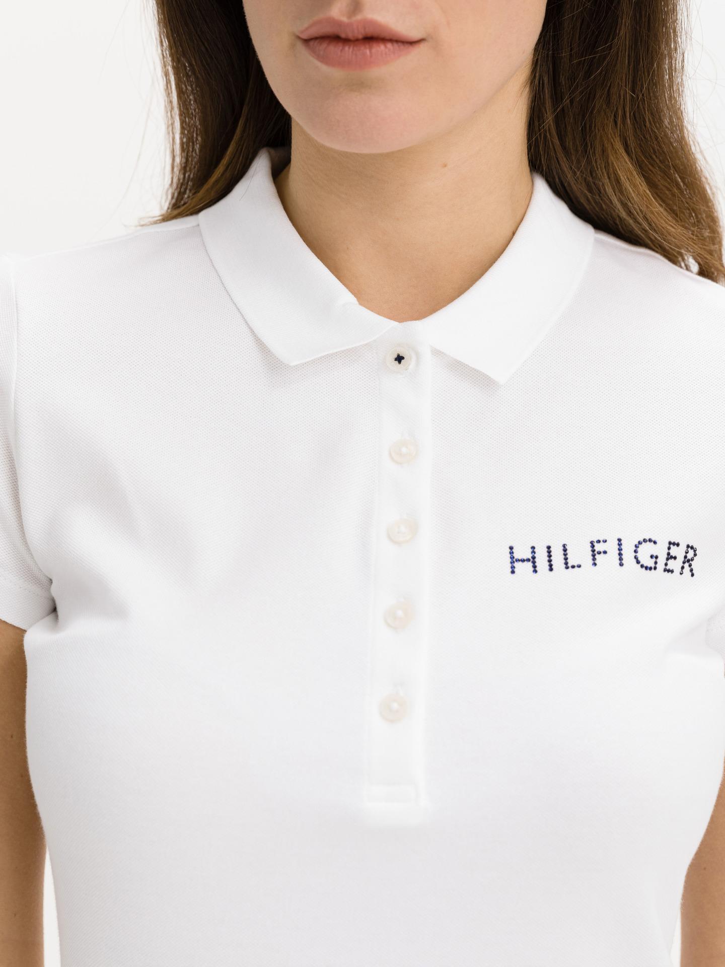 Tommy Hilfiger albe de dama tricou Crystal Polo