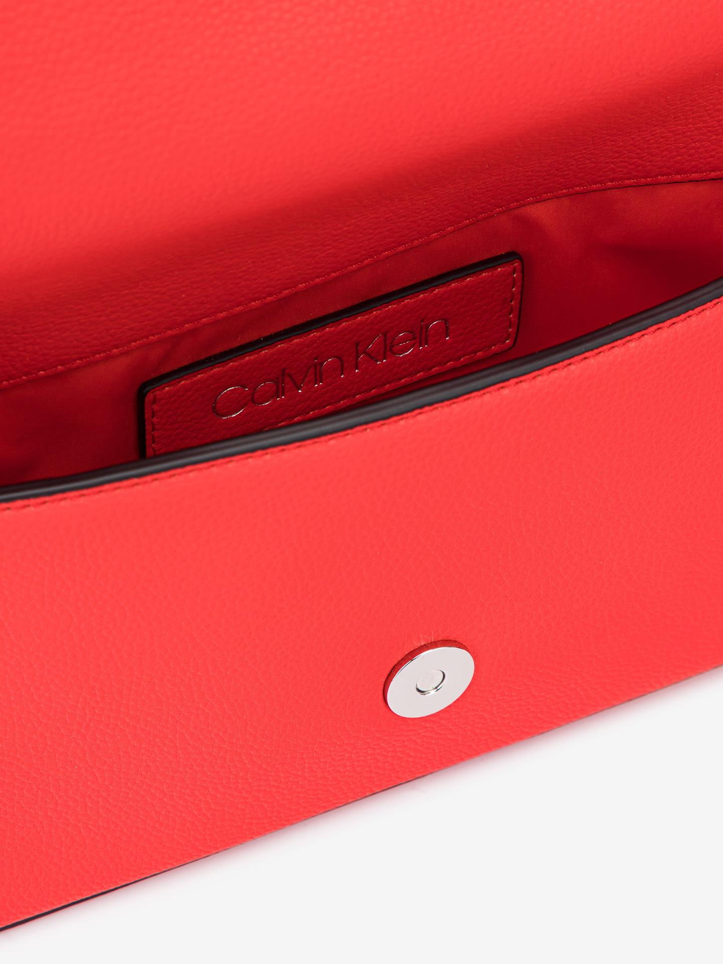 Calvin Klein roșii crossbody geanta Ew Flap