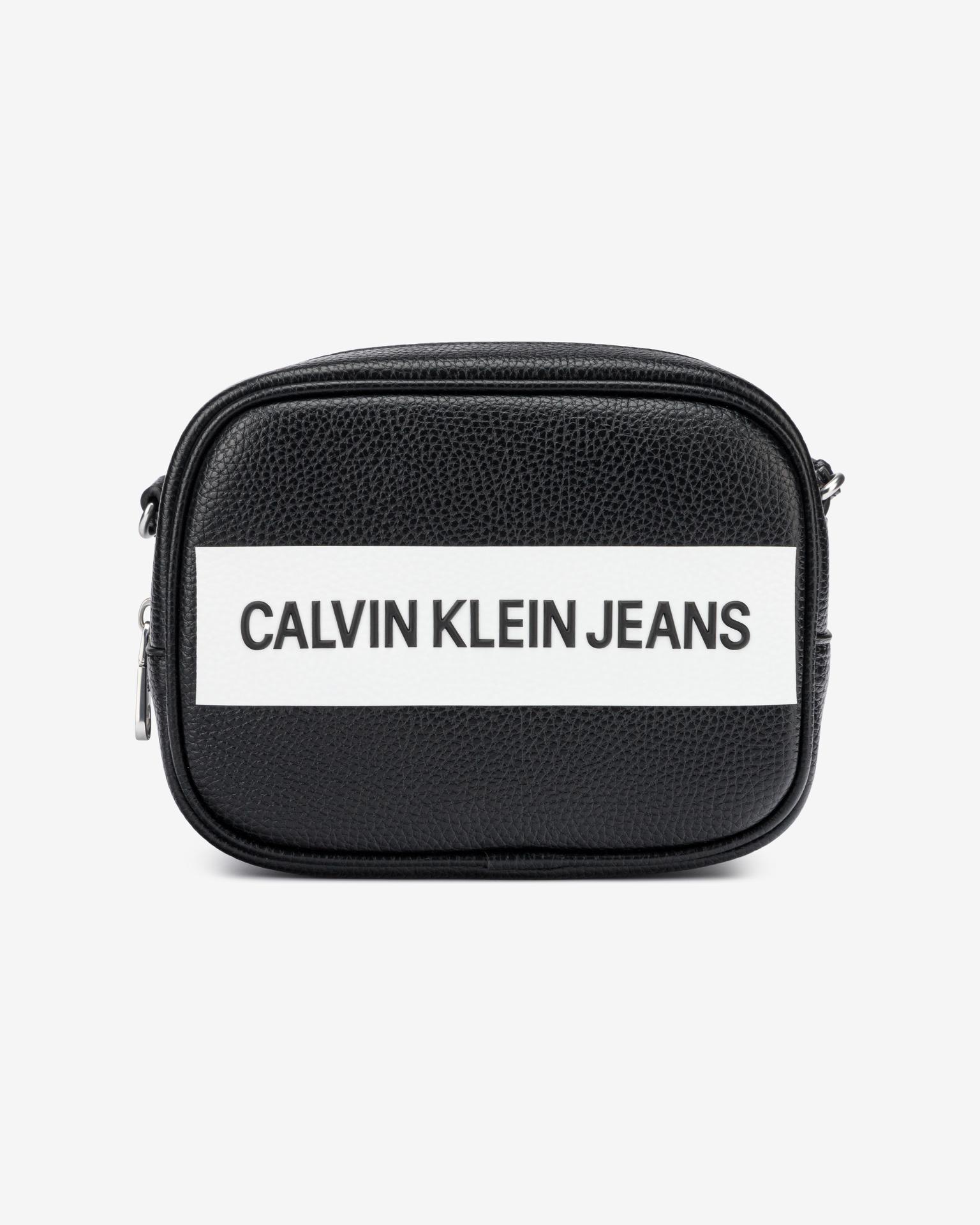 Calvin Klein negre crossbody geanta Camera