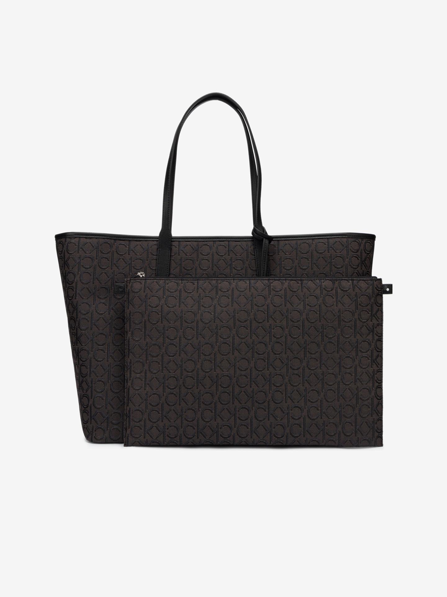 Calvin Klein geanta Jacquard Shopper