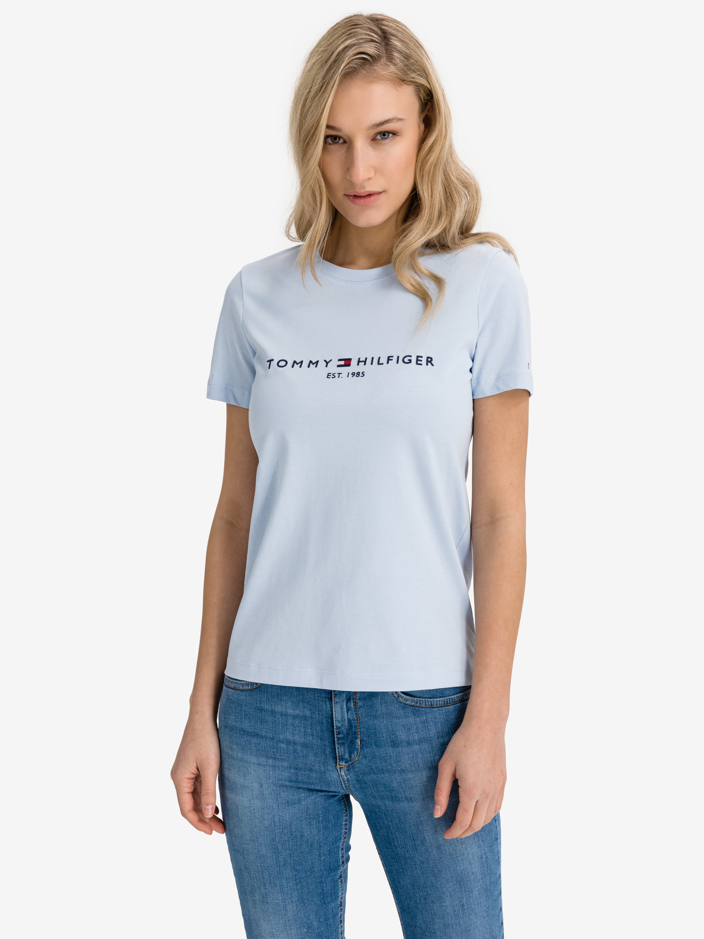 Tommy Hilfiger de dama tricou Essential