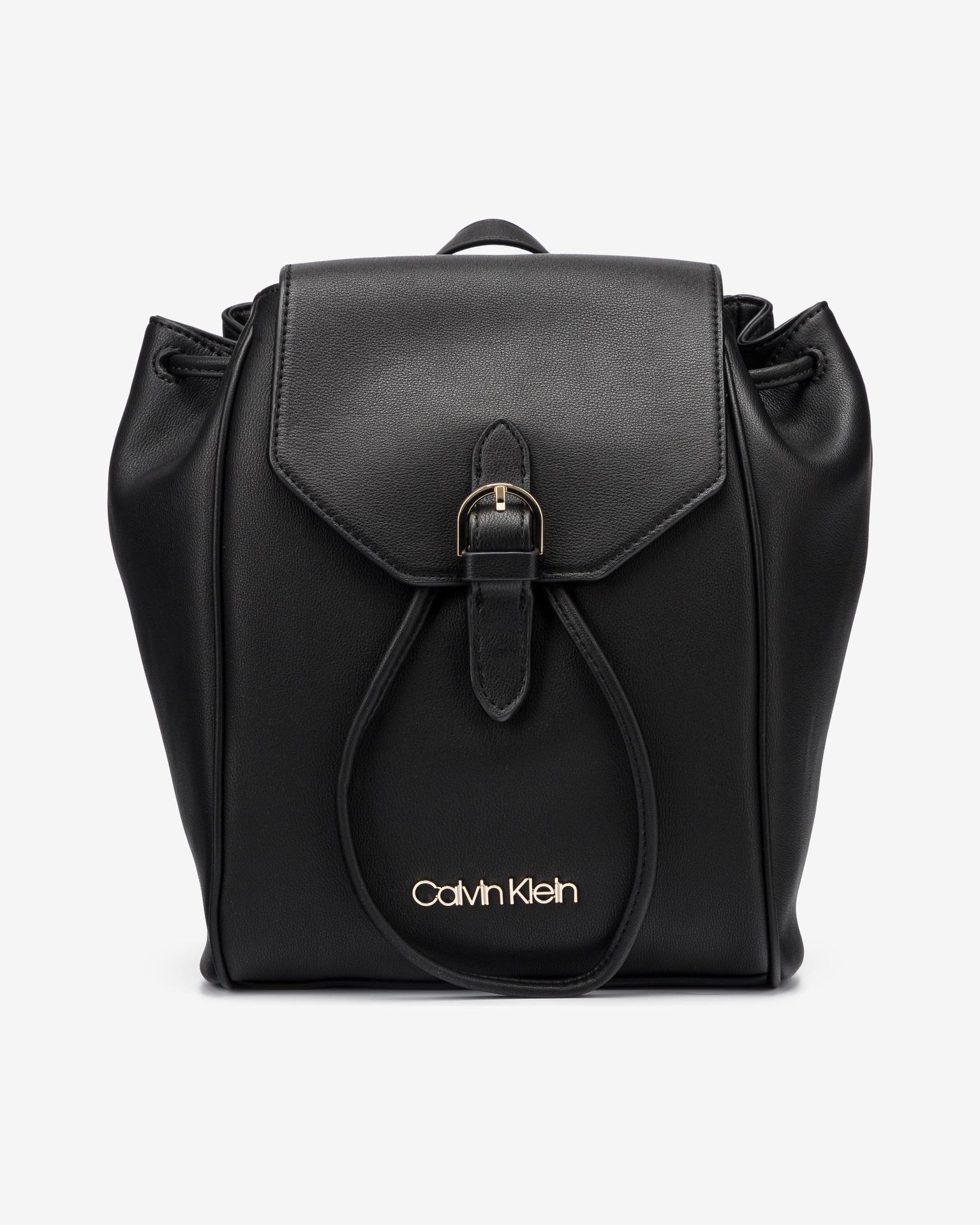 Calvin Klein negre rucsac Drawstring