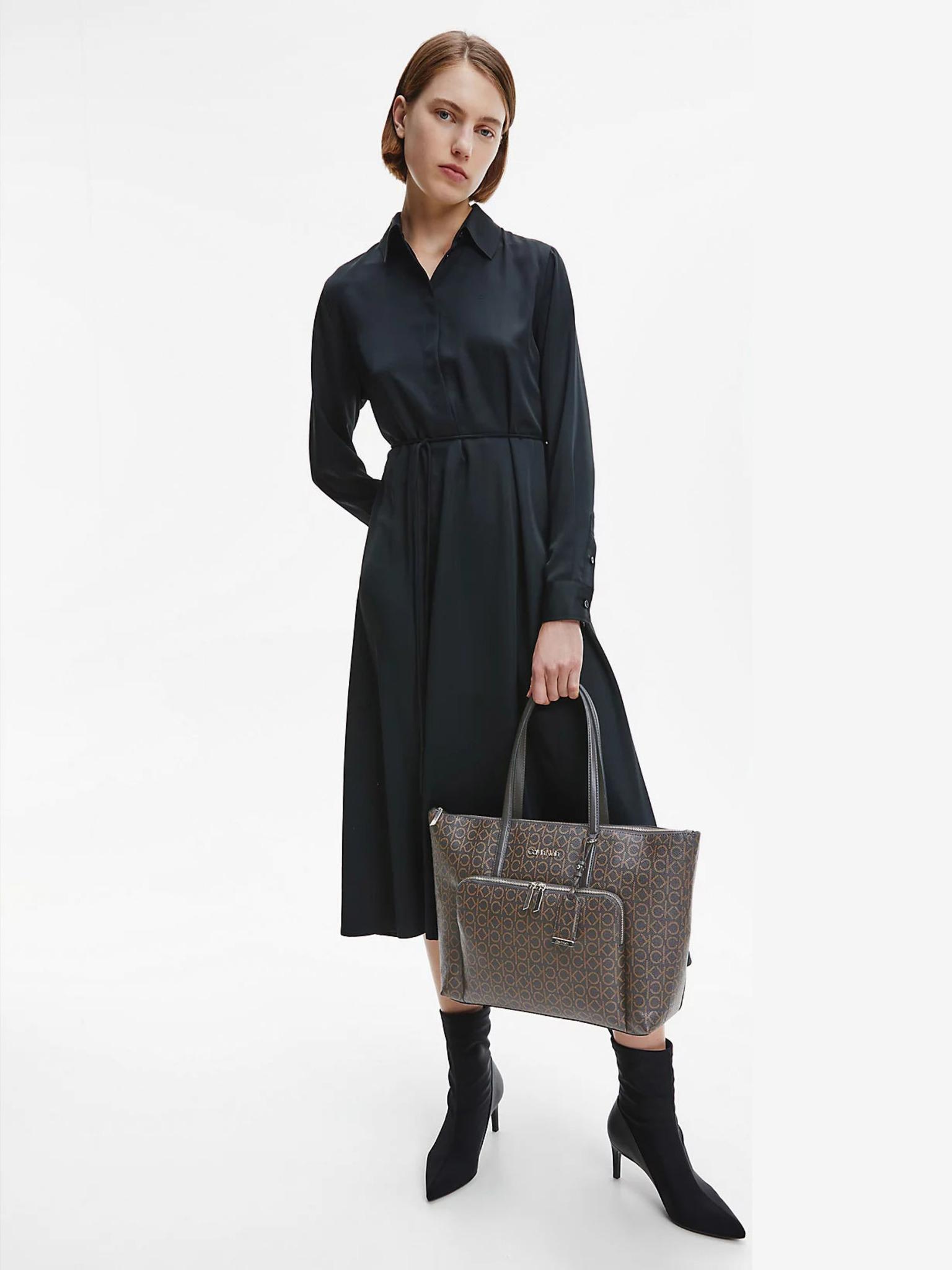 Calvin Klein maronii geanta Must Shopper