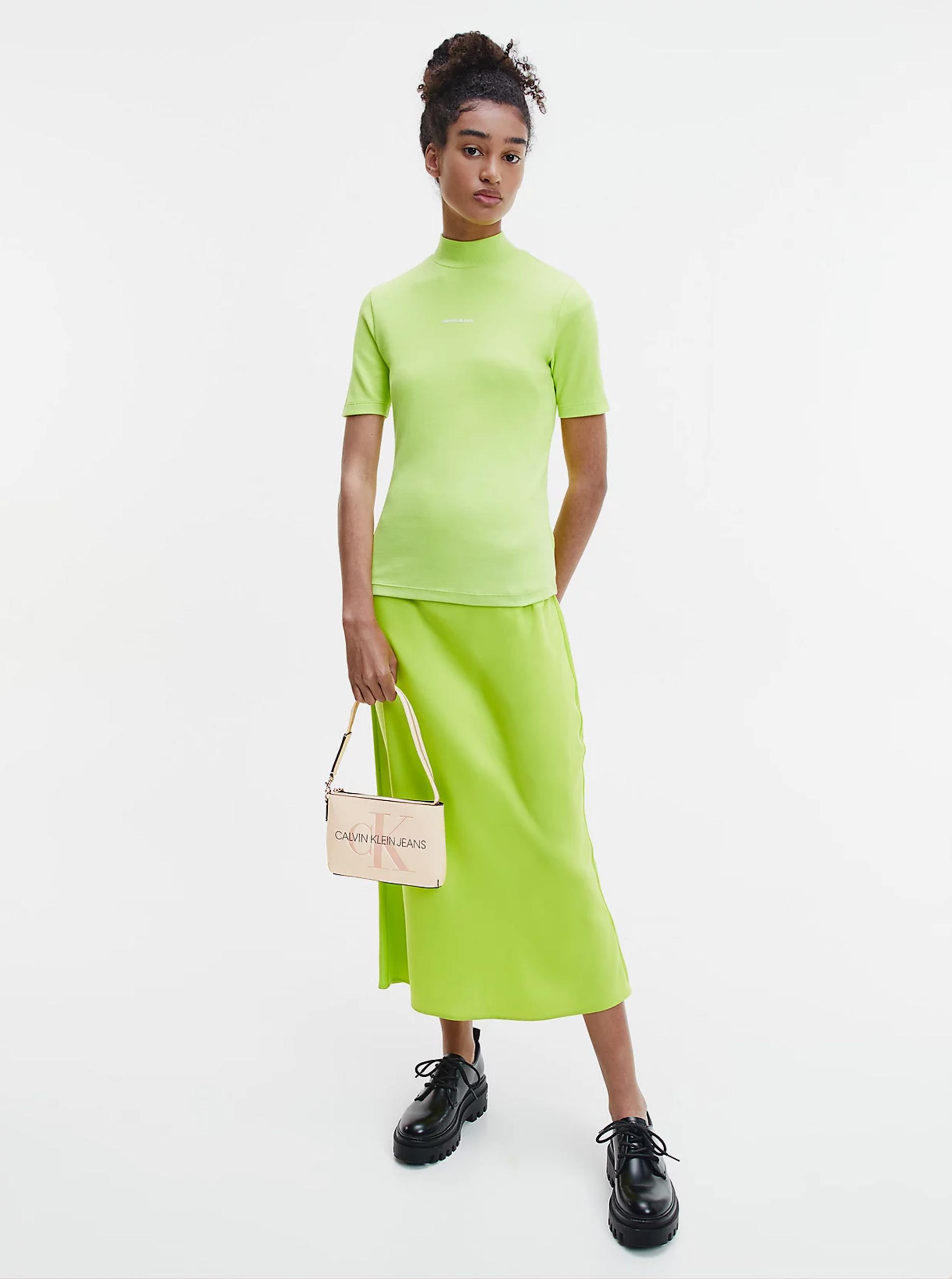 Calvin Klein smantanii/crem geanta