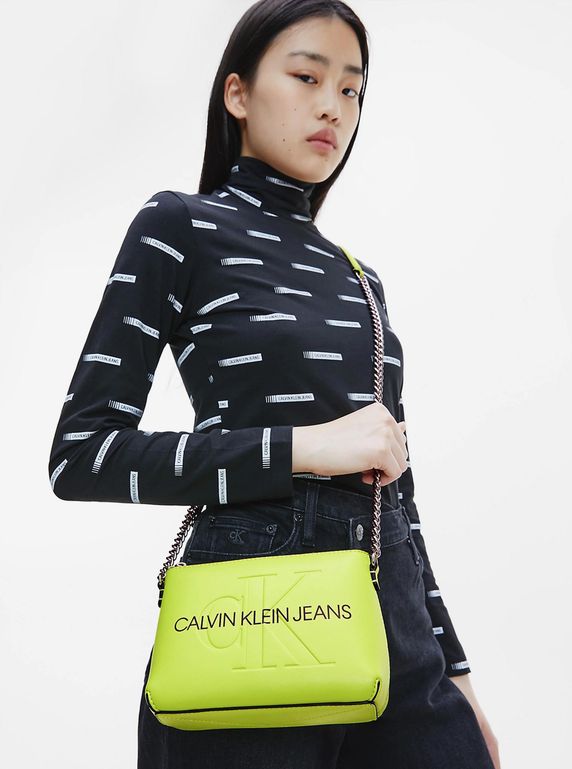 Calvin Klein verzi crossbody geanta