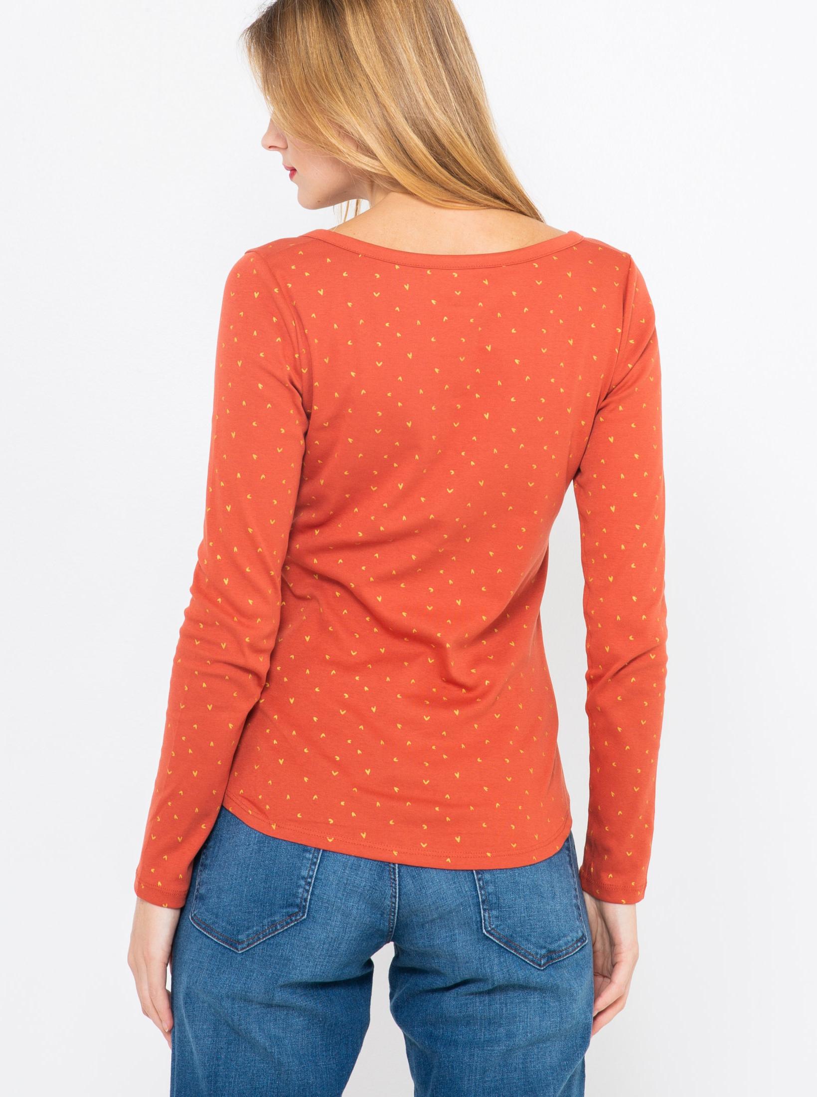 CAMAIEU Tricou de dama portocaliu