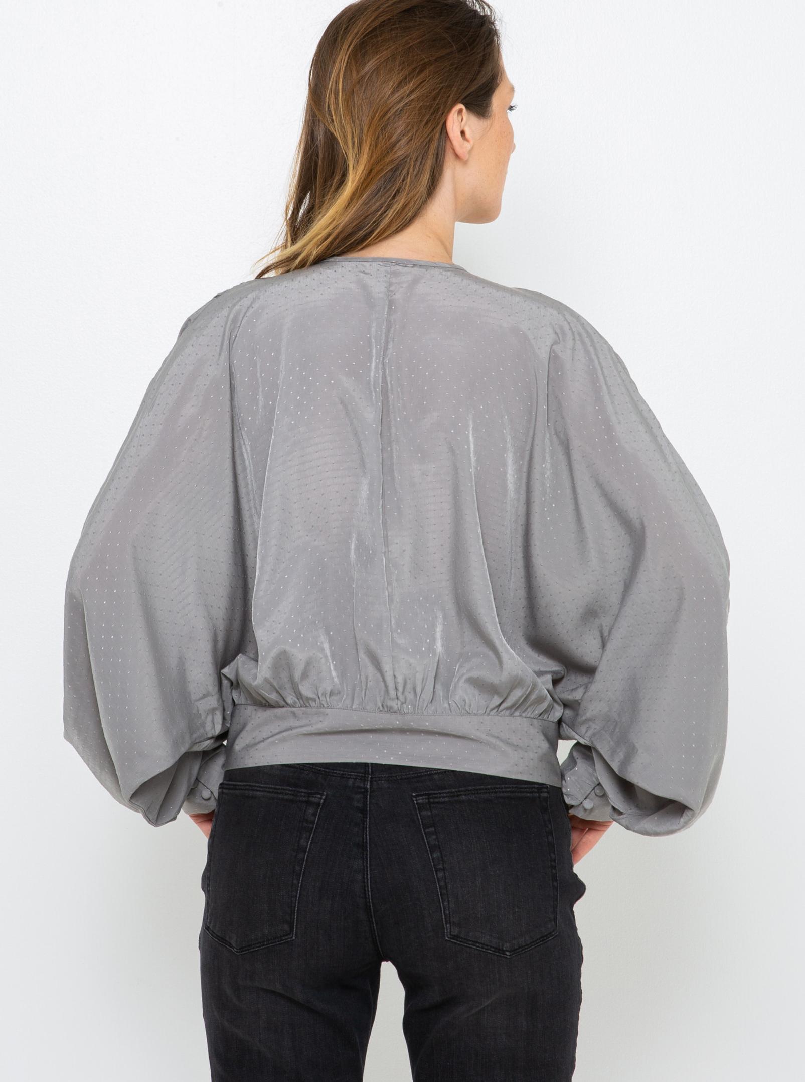 CAMAIEU gri bluză
