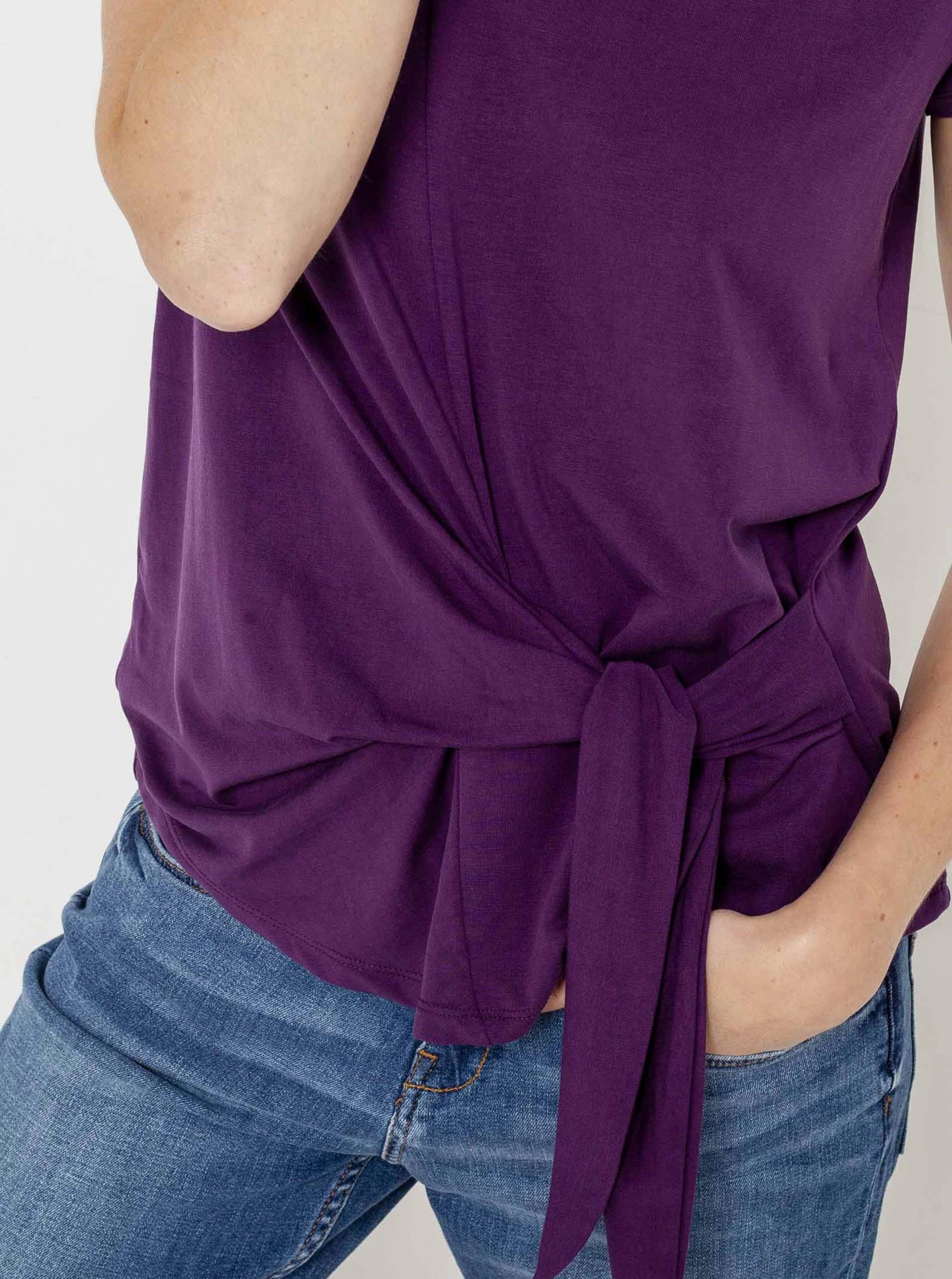 CAMAIEU Tricou de dama violet