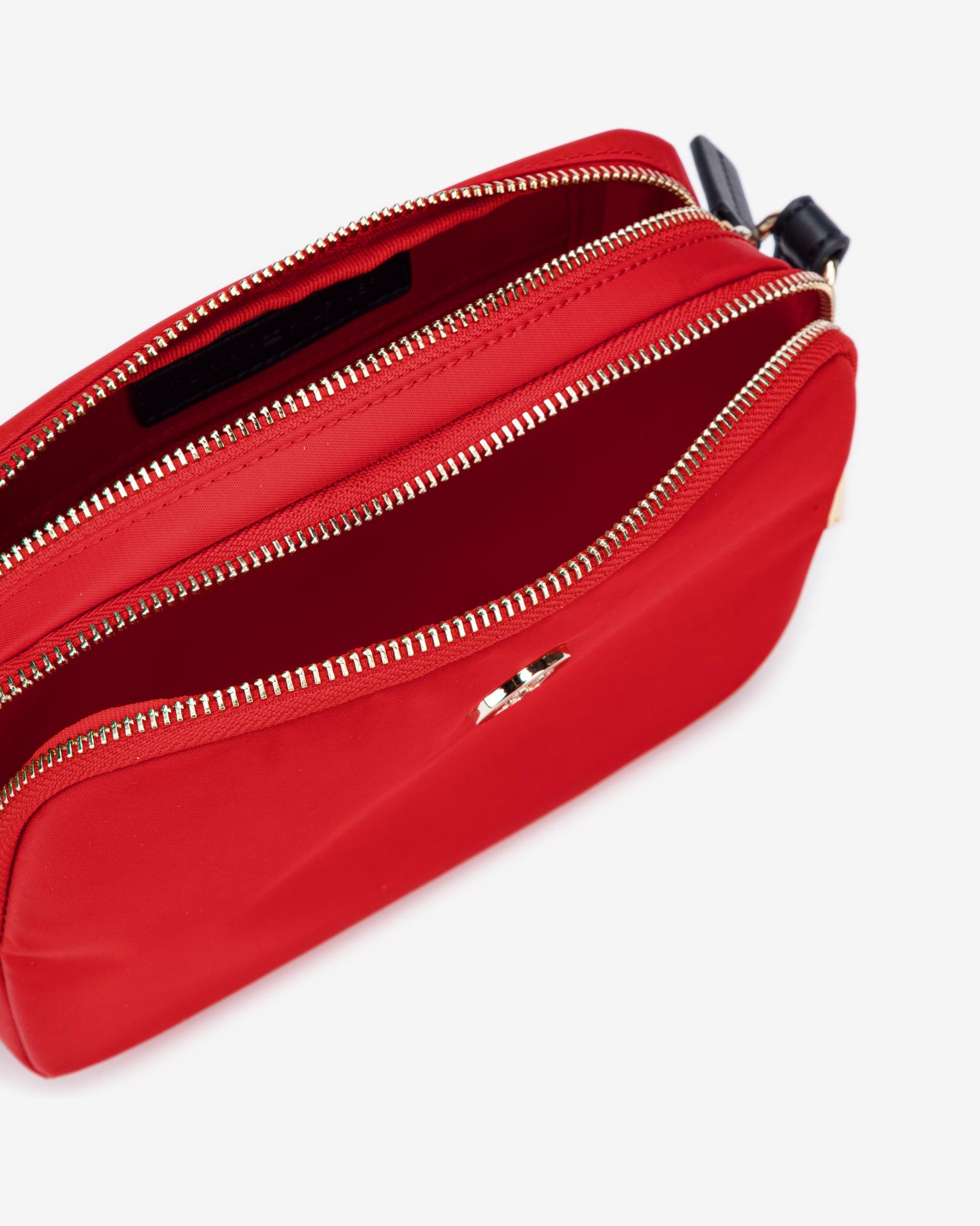 Tommy Hilfiger roșii crossbody geanta Poppy
