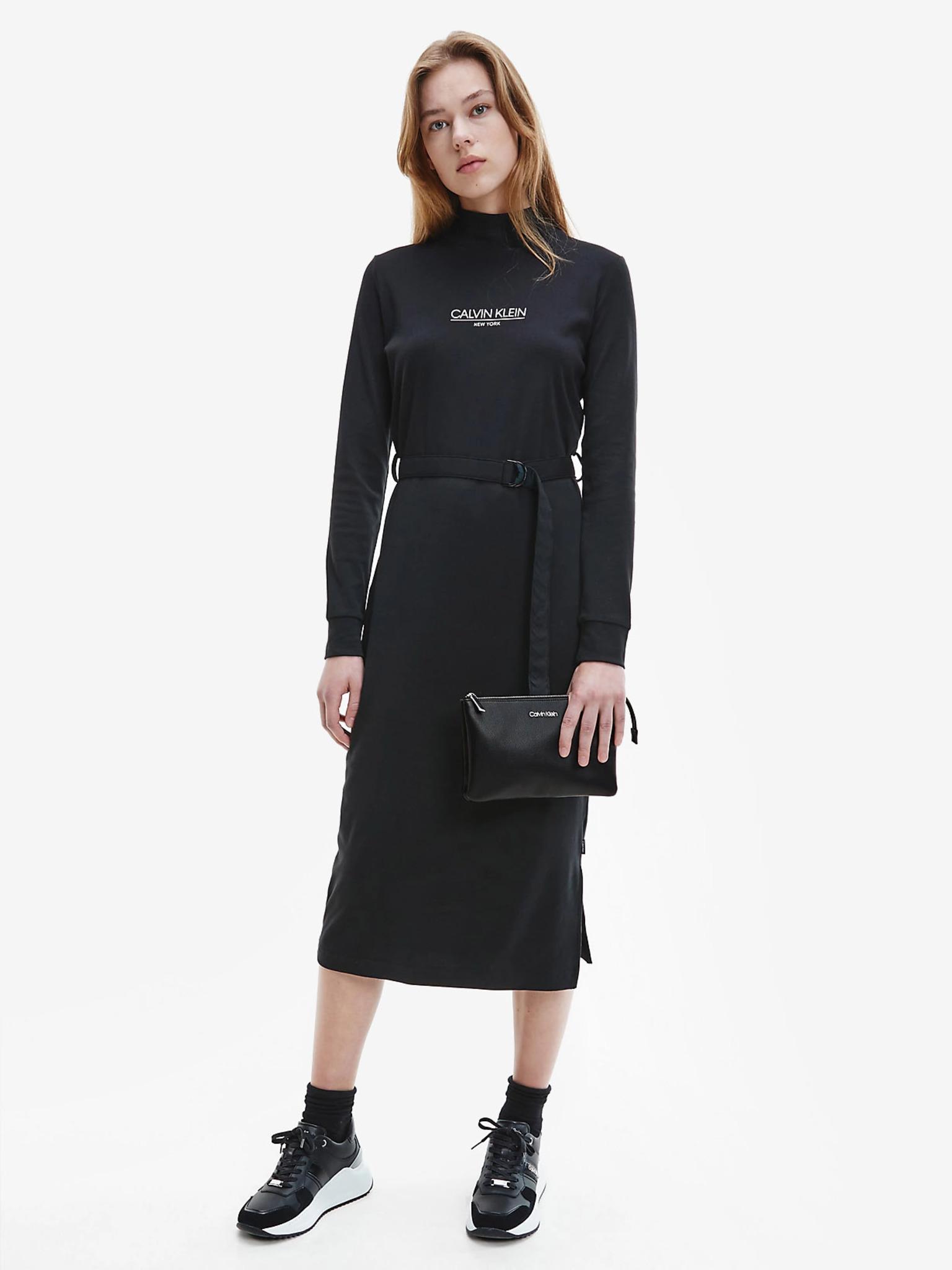 Calvin Klein negre crossbody geanta Must