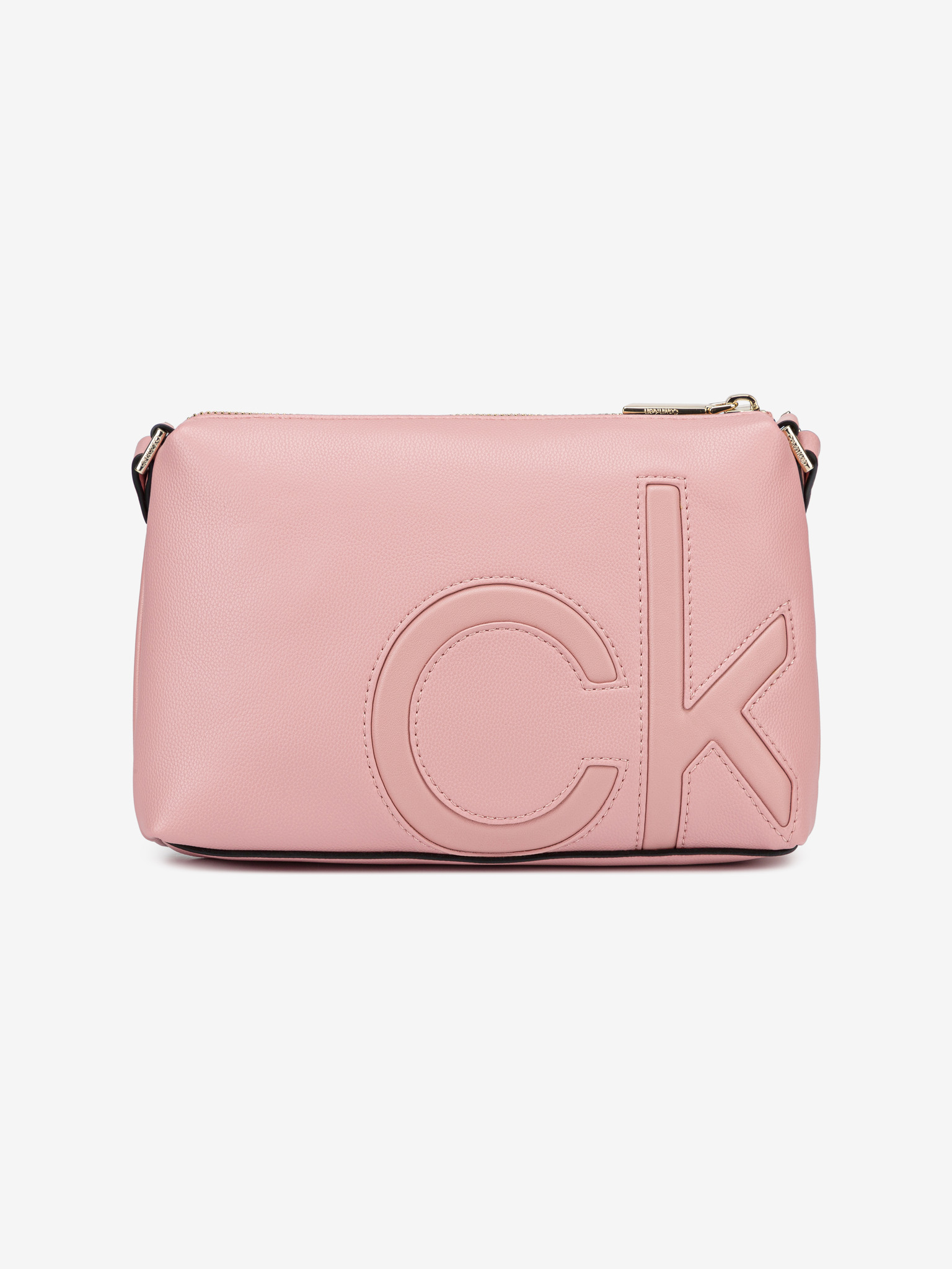 Calvin Klein roz crossbody geanta
