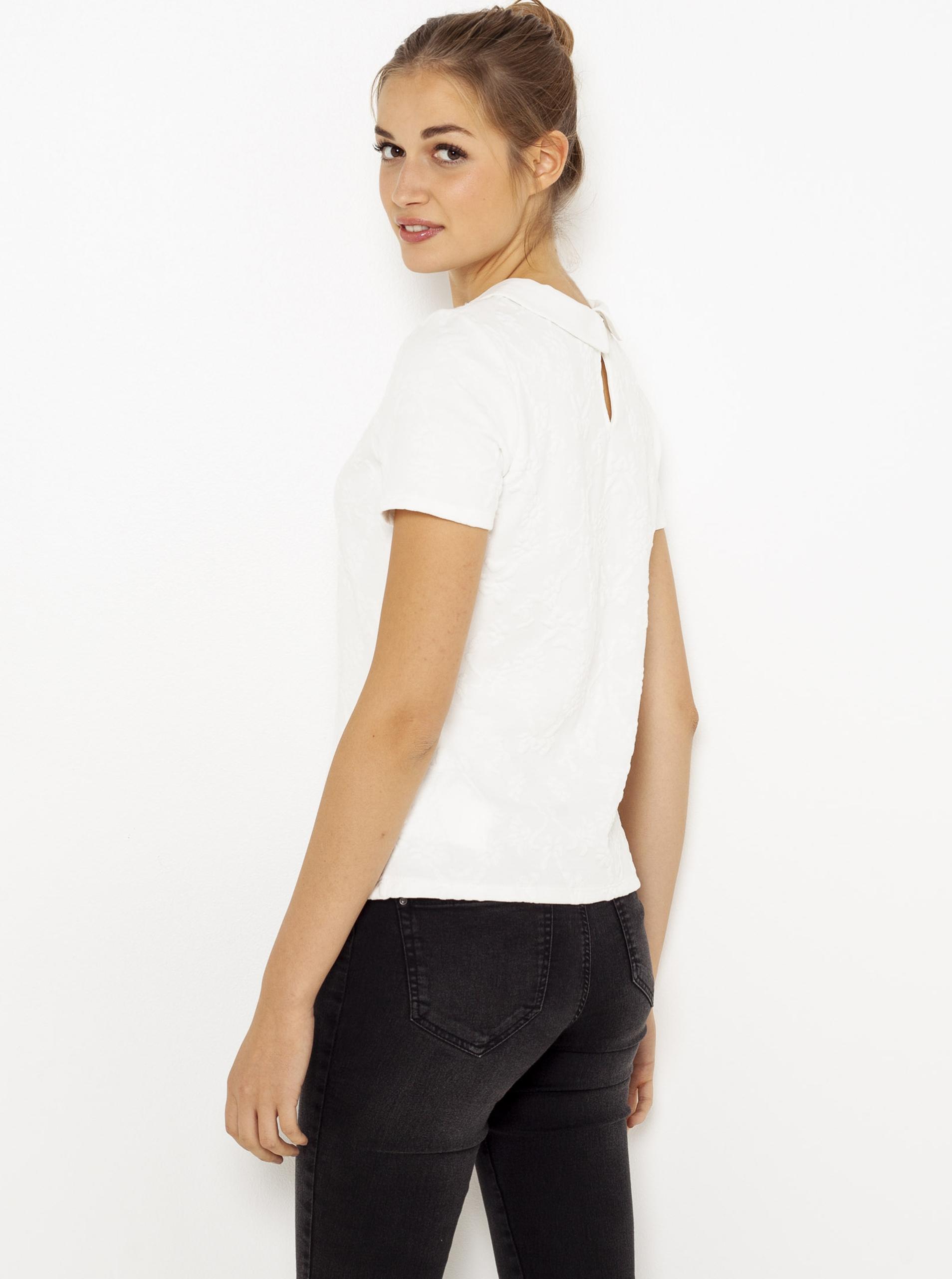 CAMAIEU Tricou de dama alb