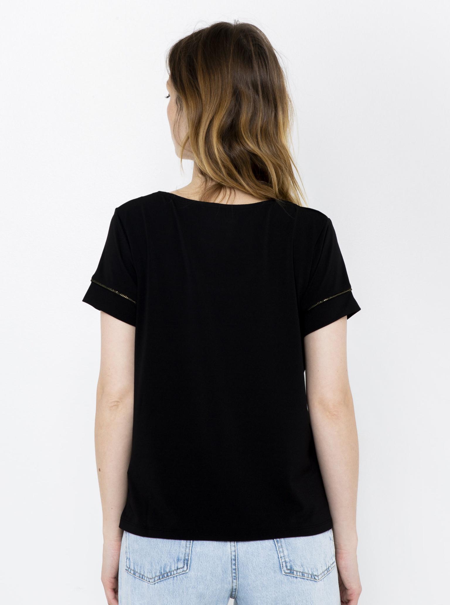 CAMAIEU Tricou de dama negru