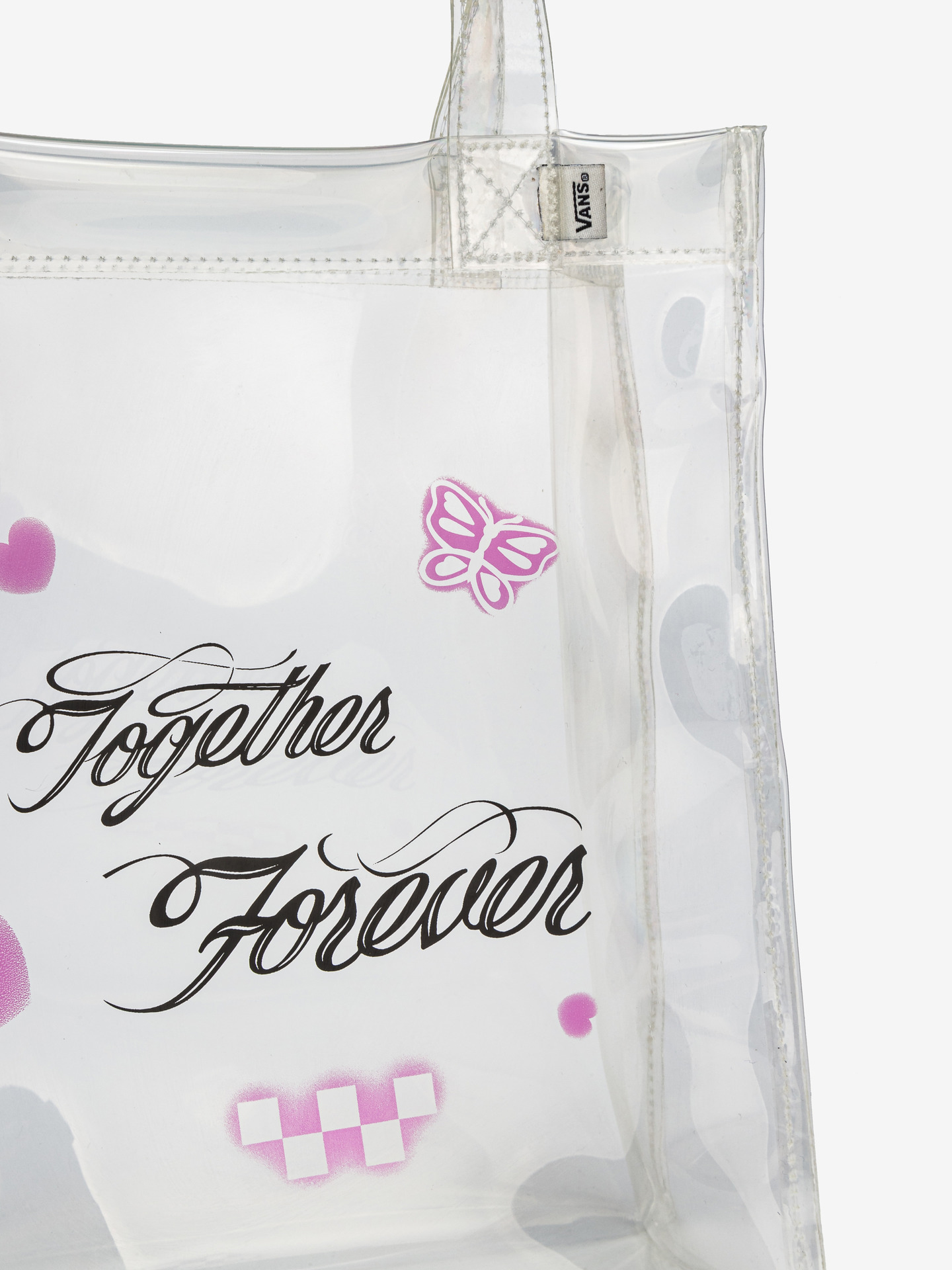 Vans albe geanta Better Together Forever