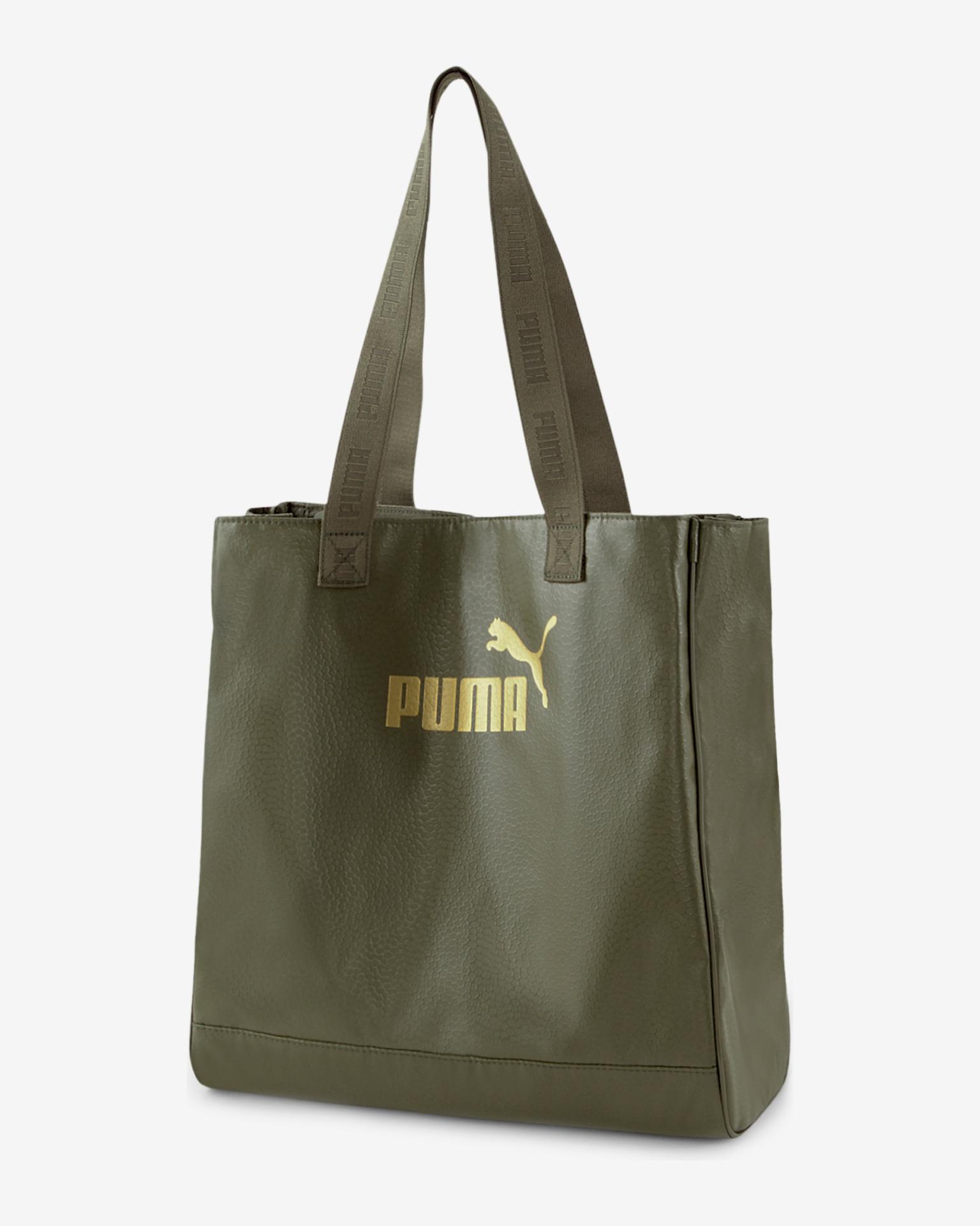Puma Core Up Shopper Geantă Verde