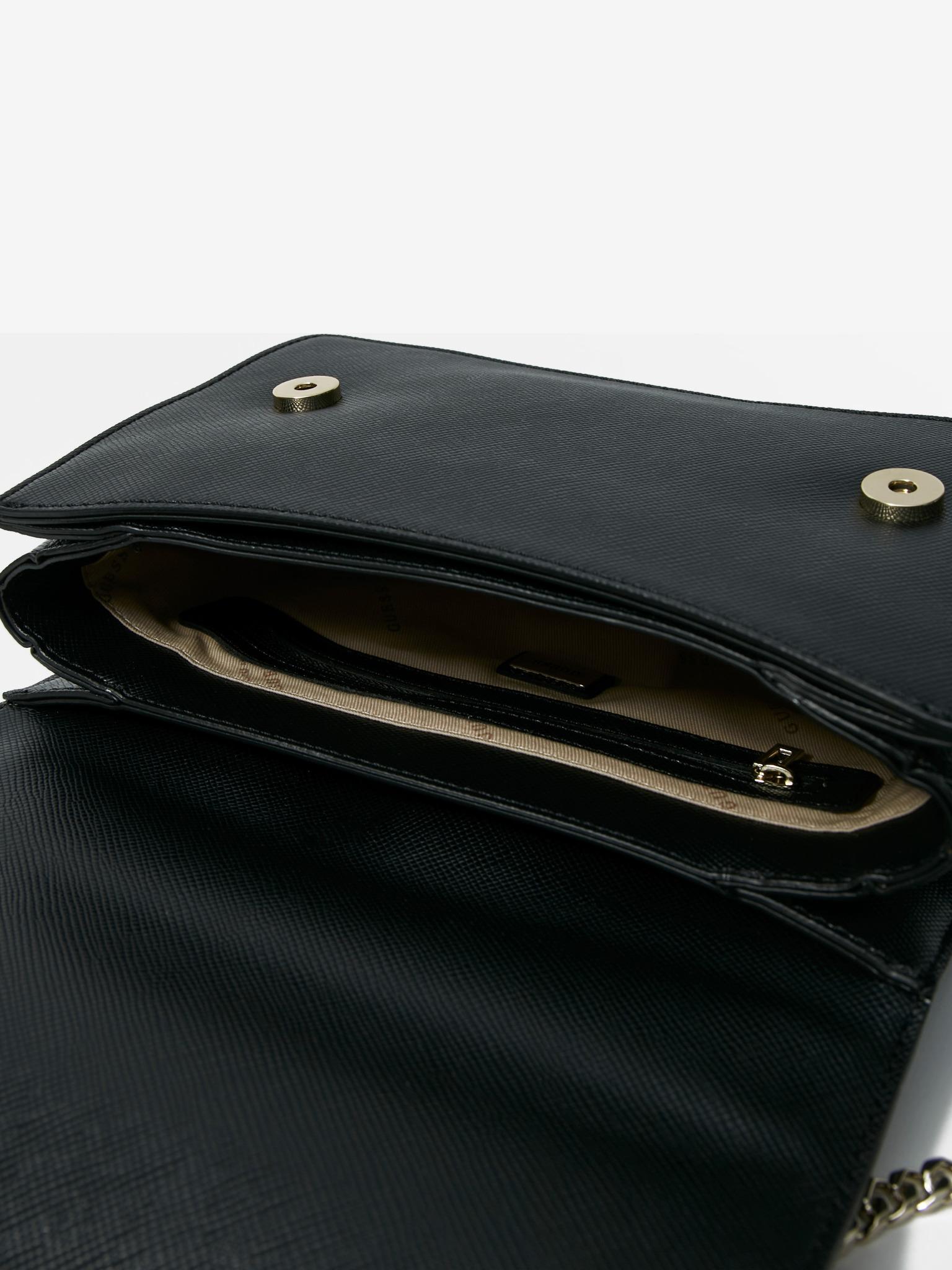 Guess negre crossbody geanta Katey