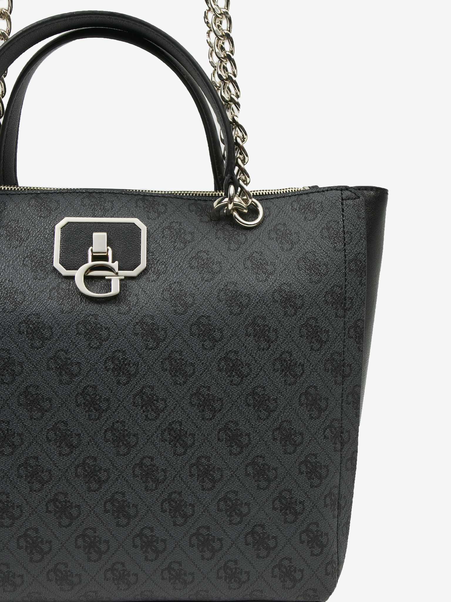 Guess negre geanta Alisa Society