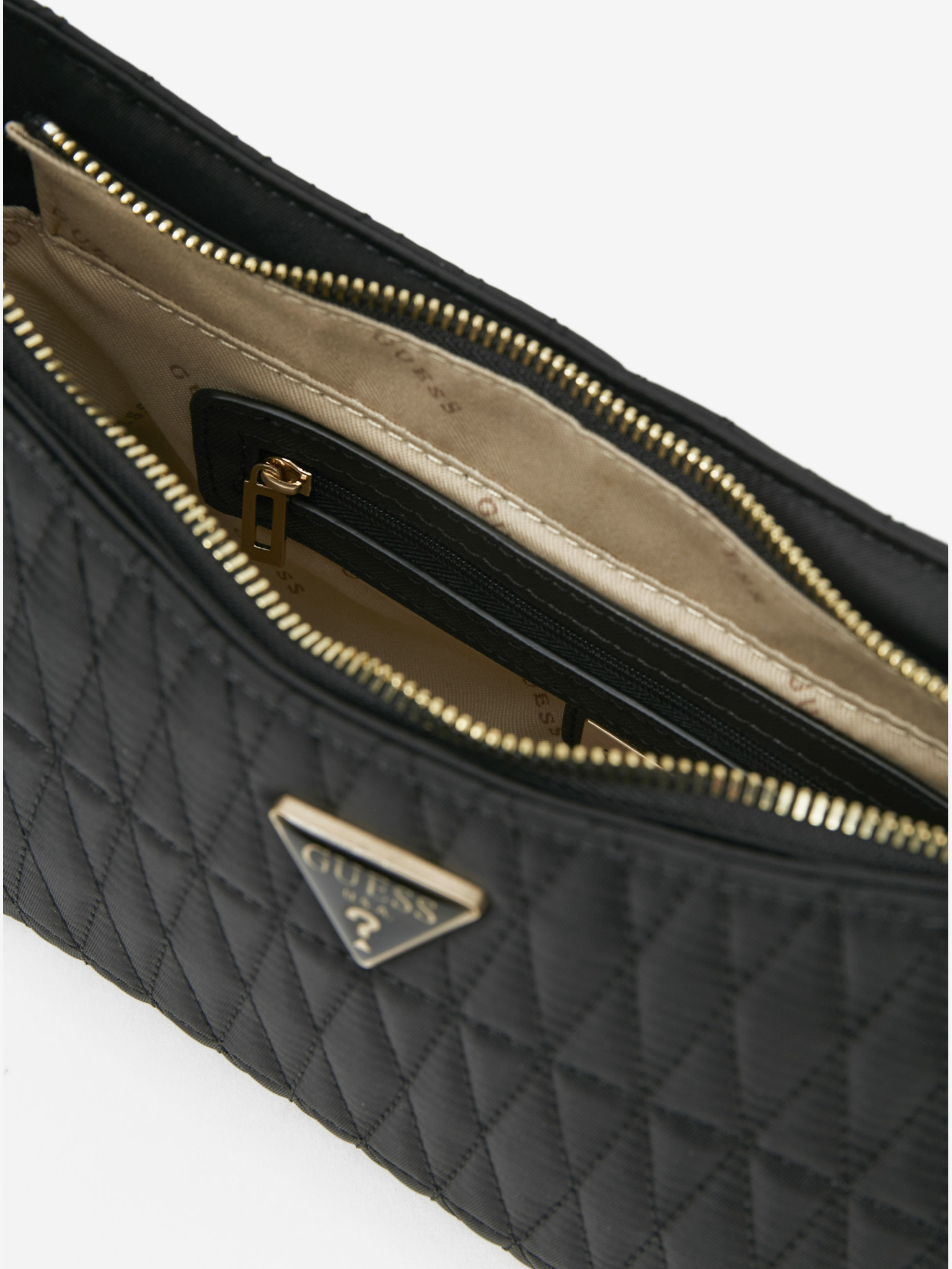 Guess negre geanta Layla Top