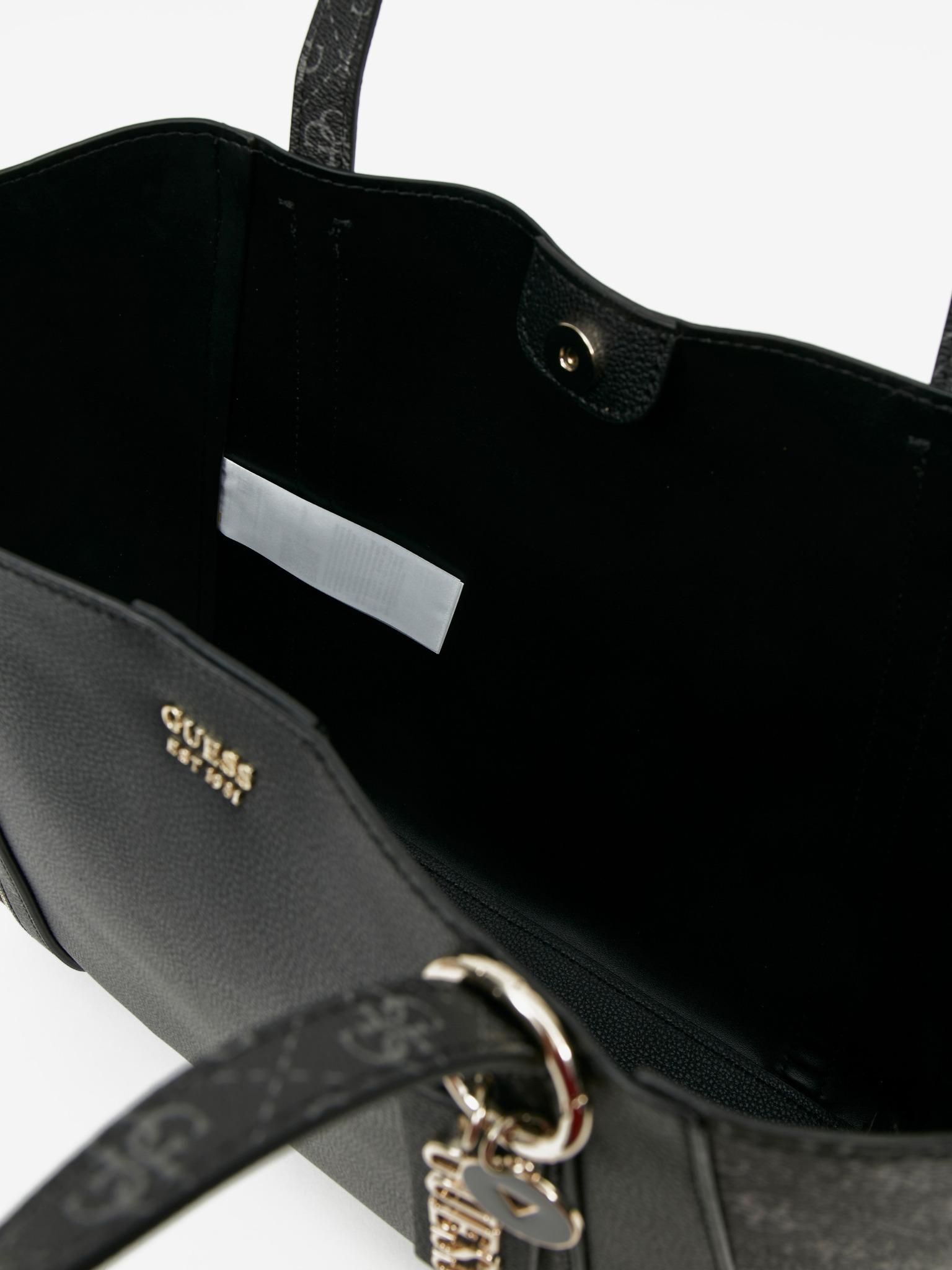 Guess negre geanta Naya