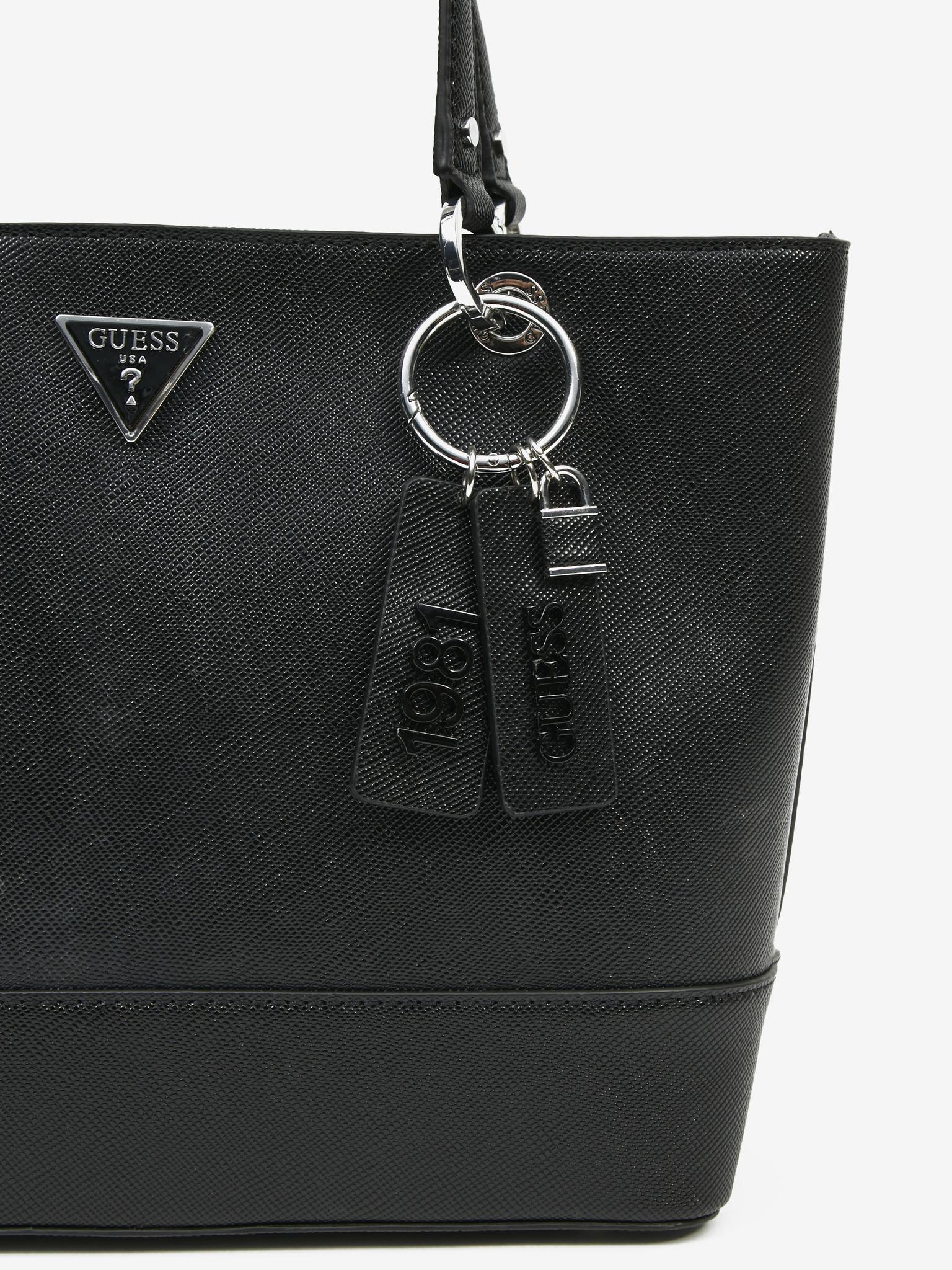 Guess negre geanta Noelle Elite