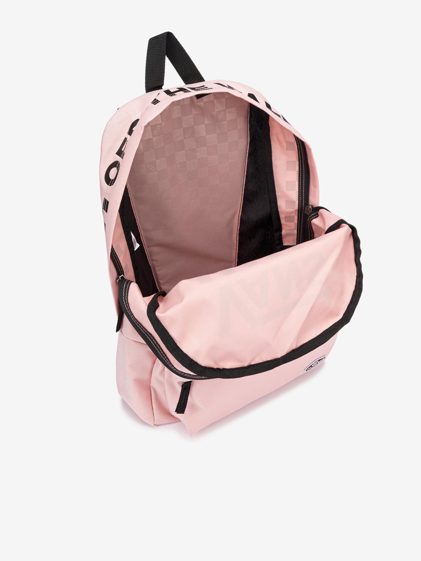 Vans roz rucsac Street Sport Real