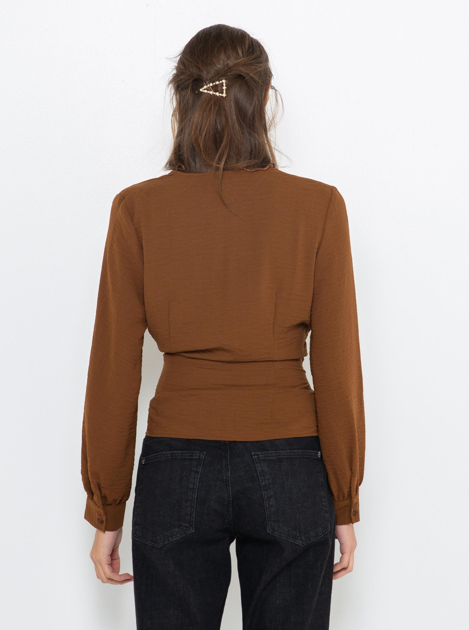 CAMAIEU maronii bluză
